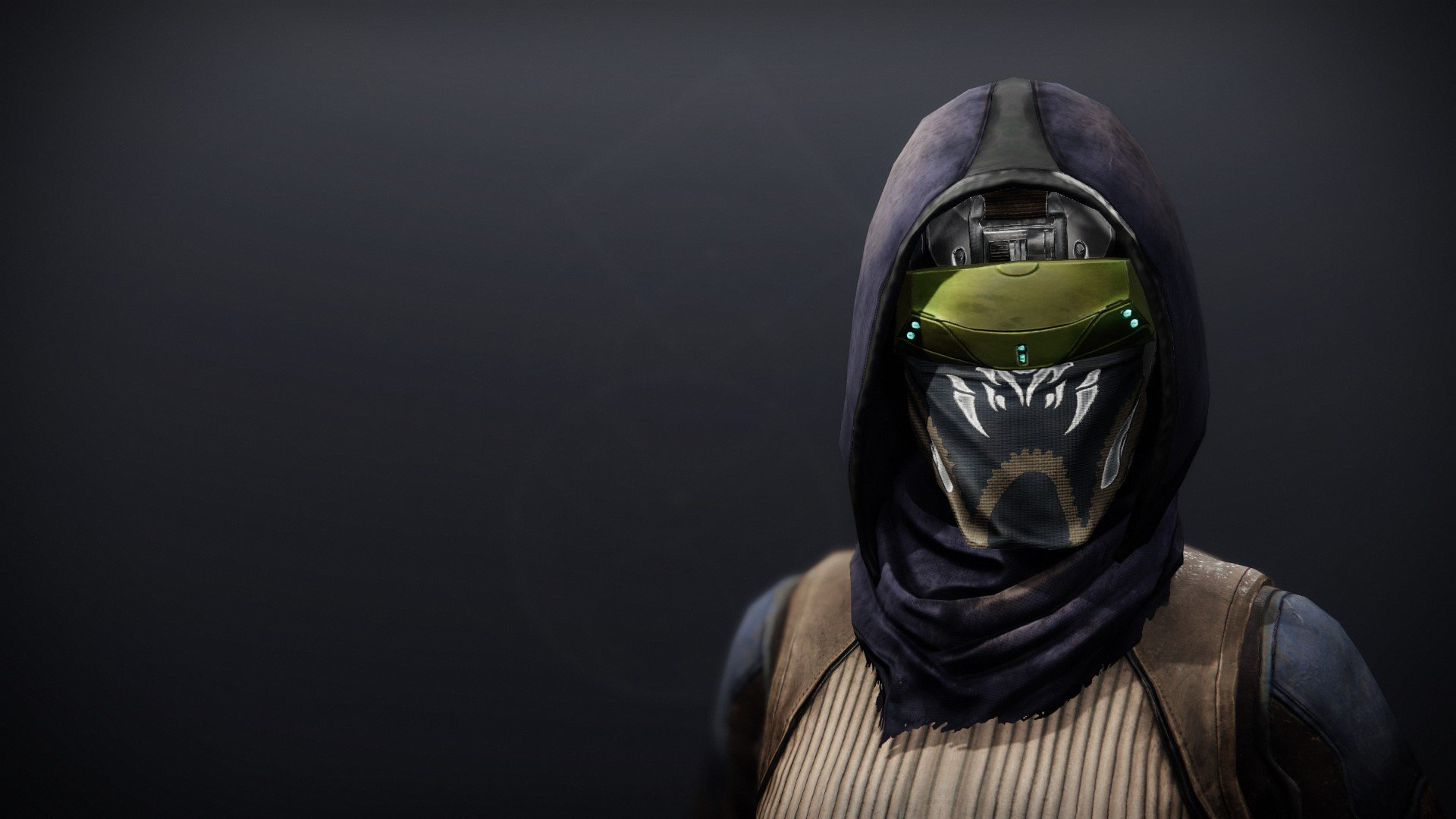 An in-game render of the Illicit Collector Mask.