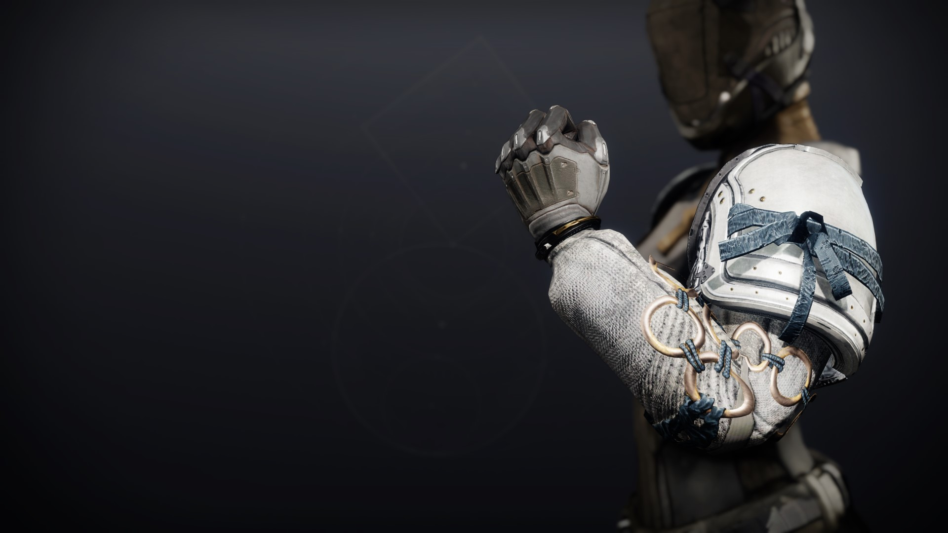 An in-game render of the Dreambane Gauntlets.