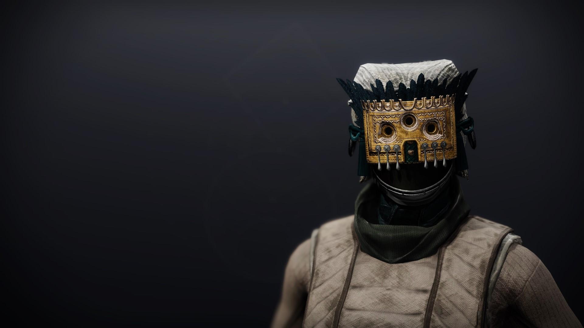 An in-game render of the Dreambane Hood.