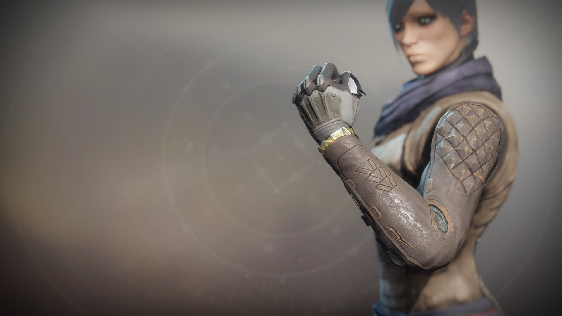 An in-game render of the Mechaneer's Tricksleeves.