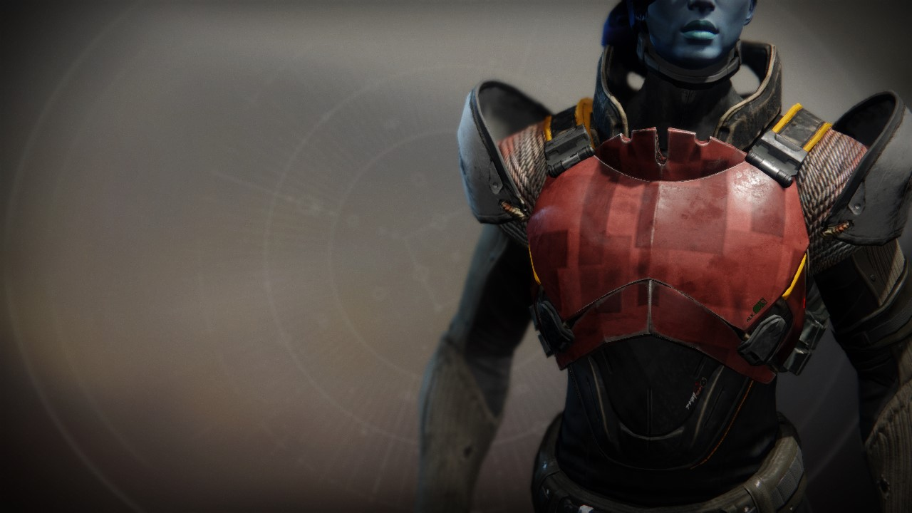 An in-game render of the Exodus Down Plate.