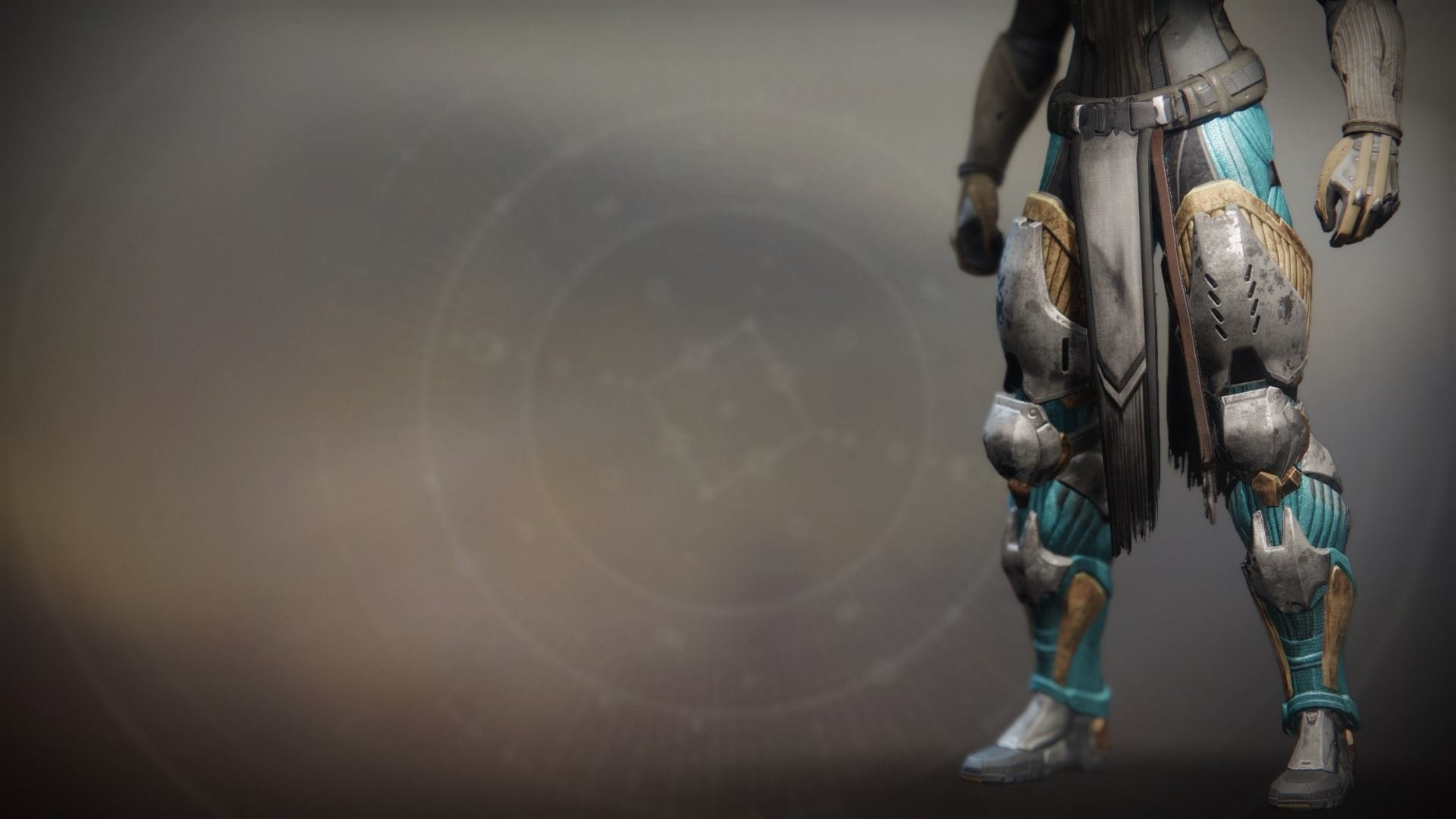 An in-game render of the Froststrike Gauntlets.