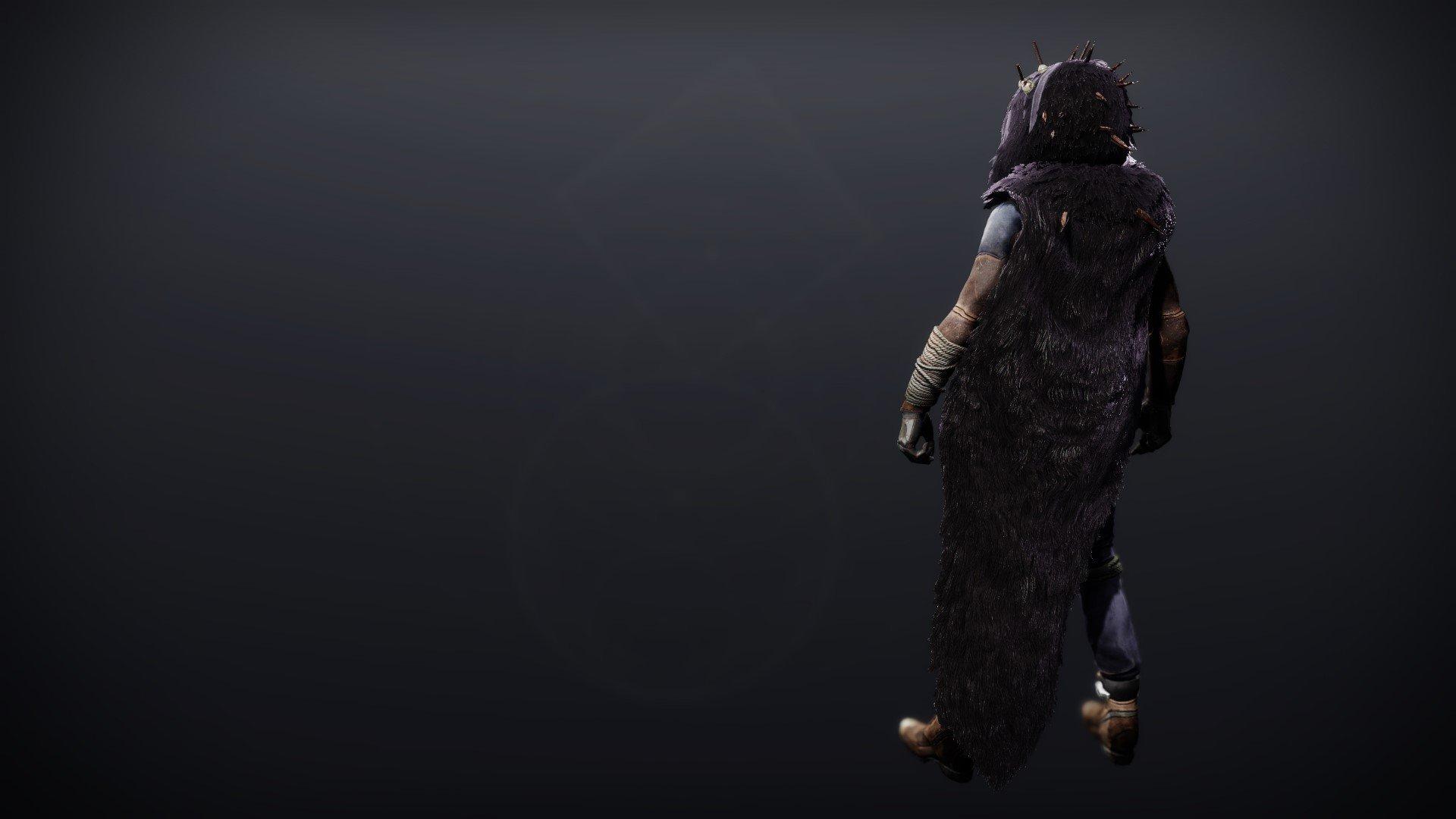 An in-game render of the Lightkin Cloak.