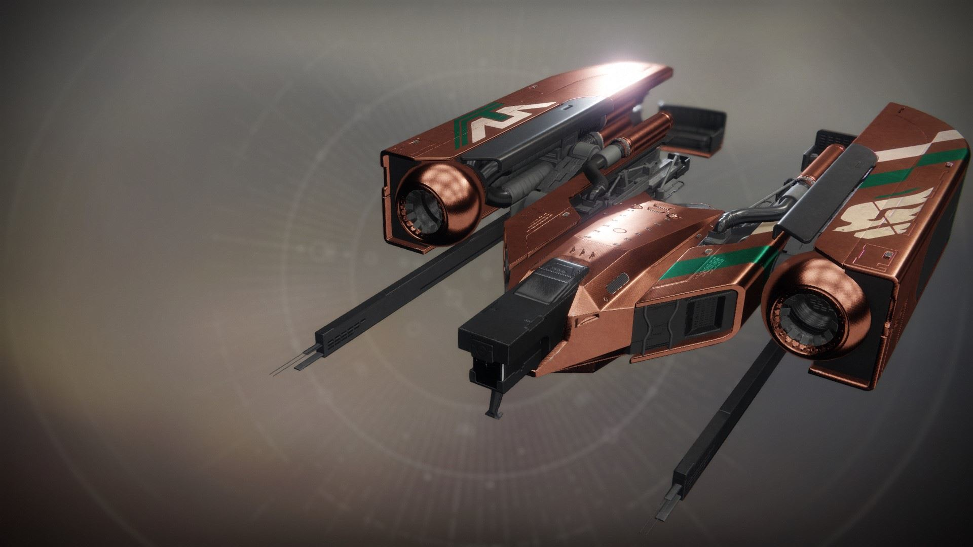 An in-game render of the Dusk Harrier.