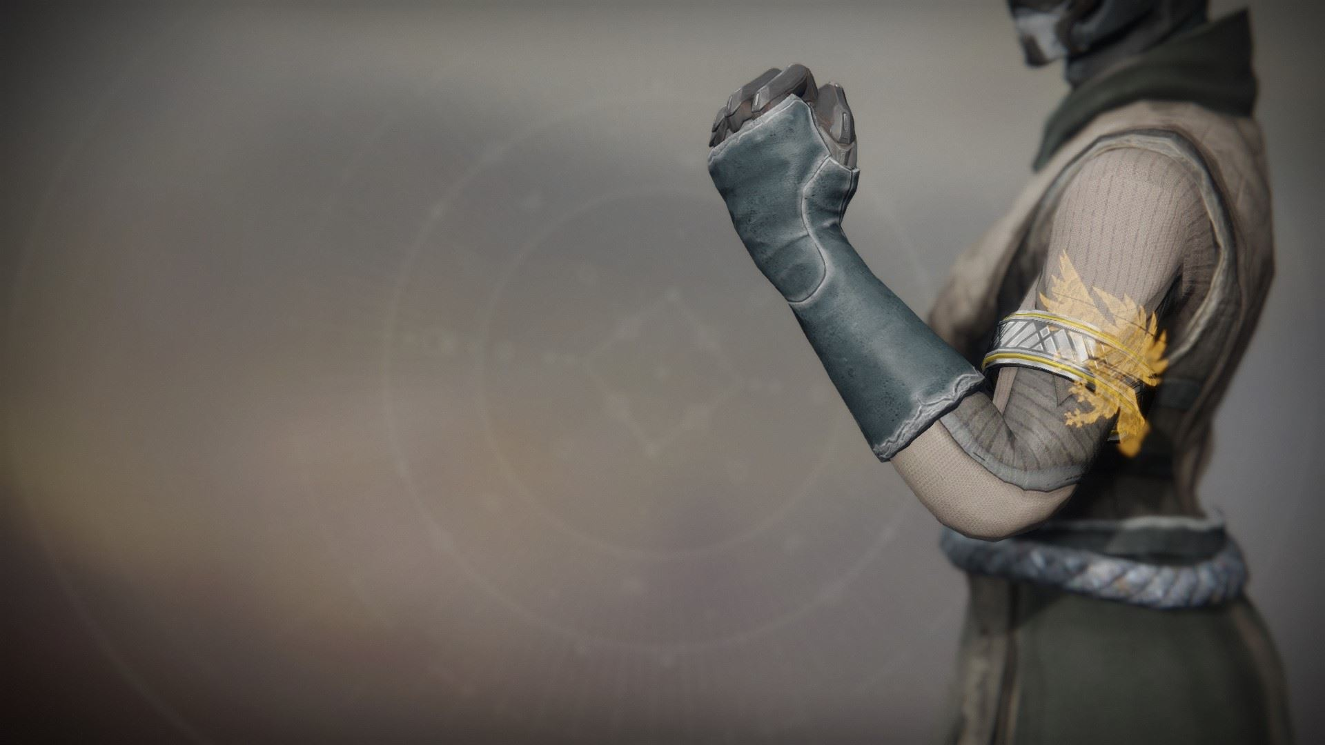 An in-game render of the Solstice Bond (Scorched).