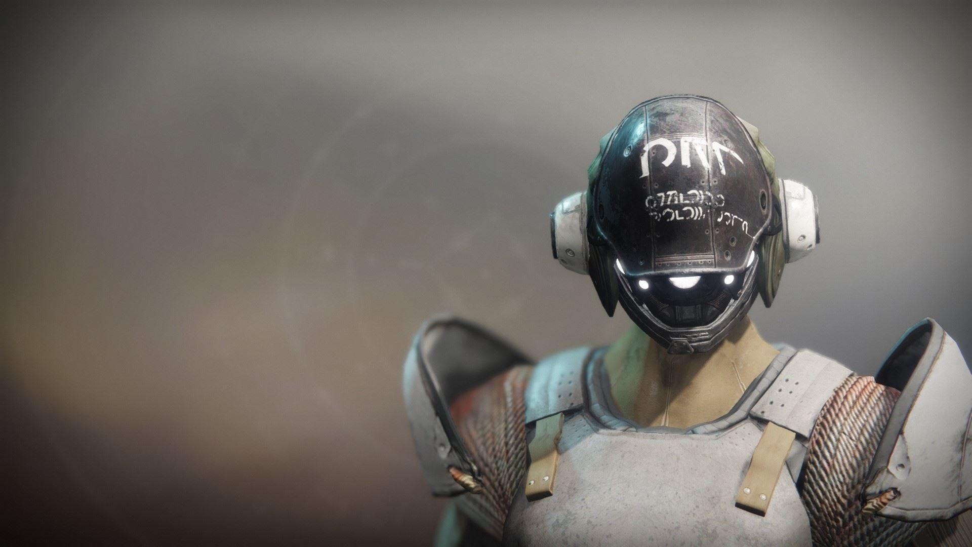 An in-game render of the Scatterhorn Helm.
