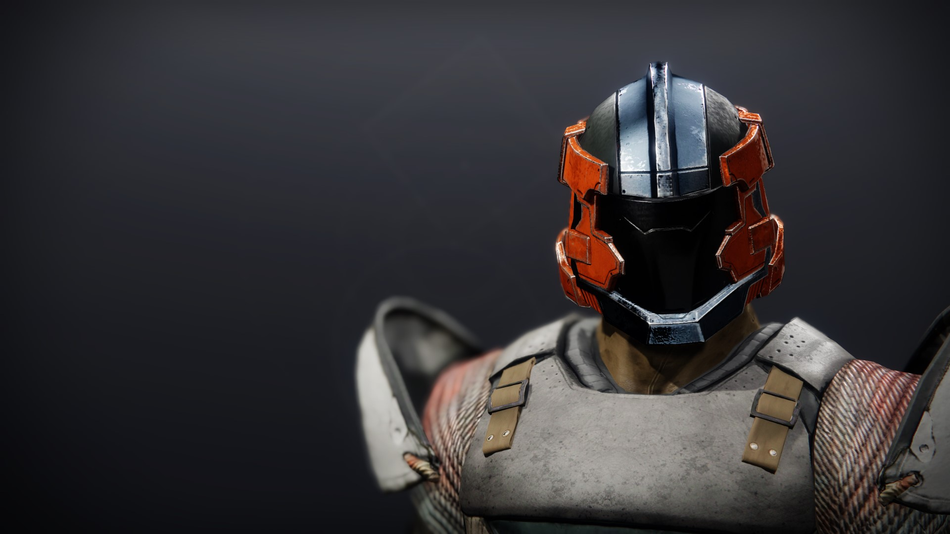 An in-game render of the Phobos Warden Helm.