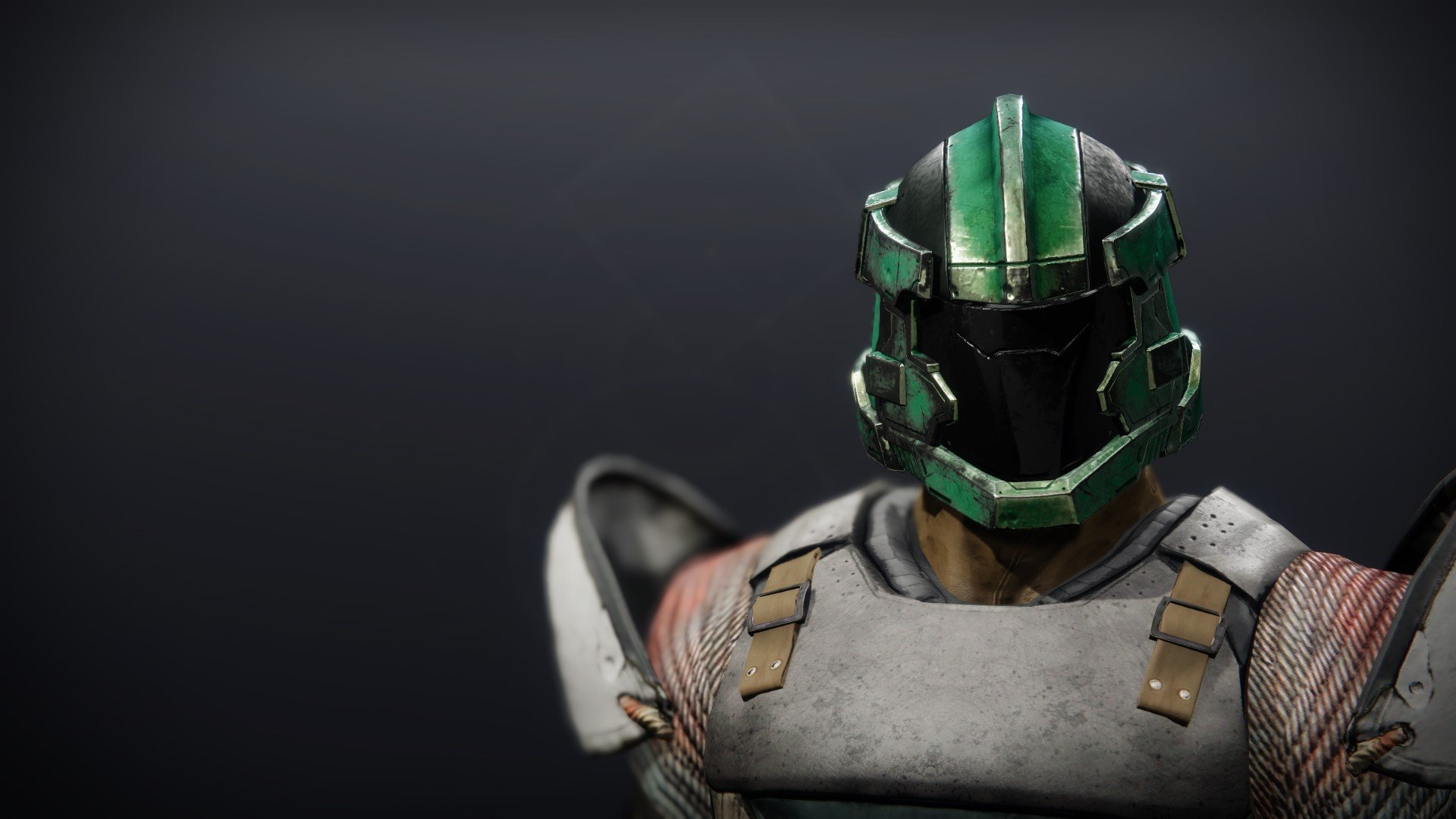 An in-game render of the Calamity Rig Helm.