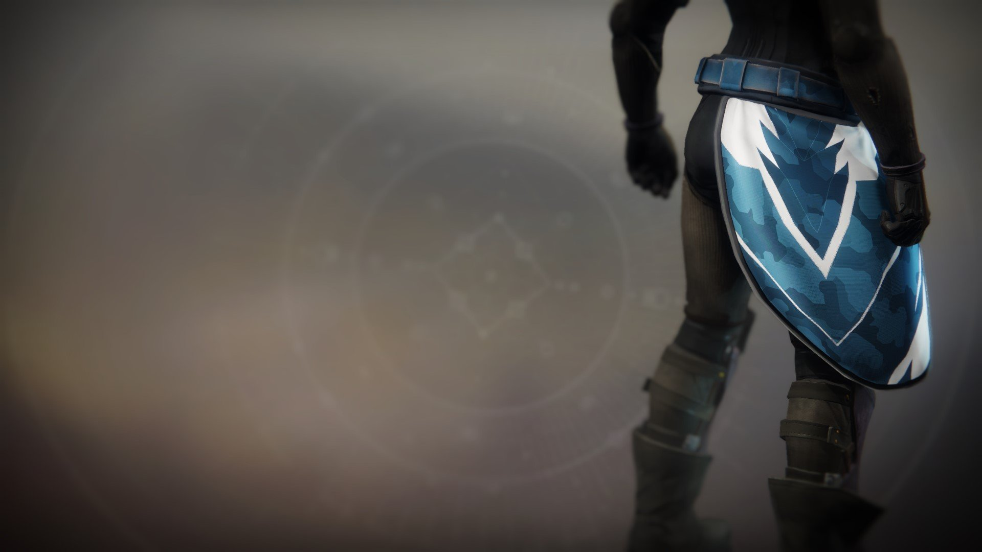 An in-game render of the Mark of the Unassailable.