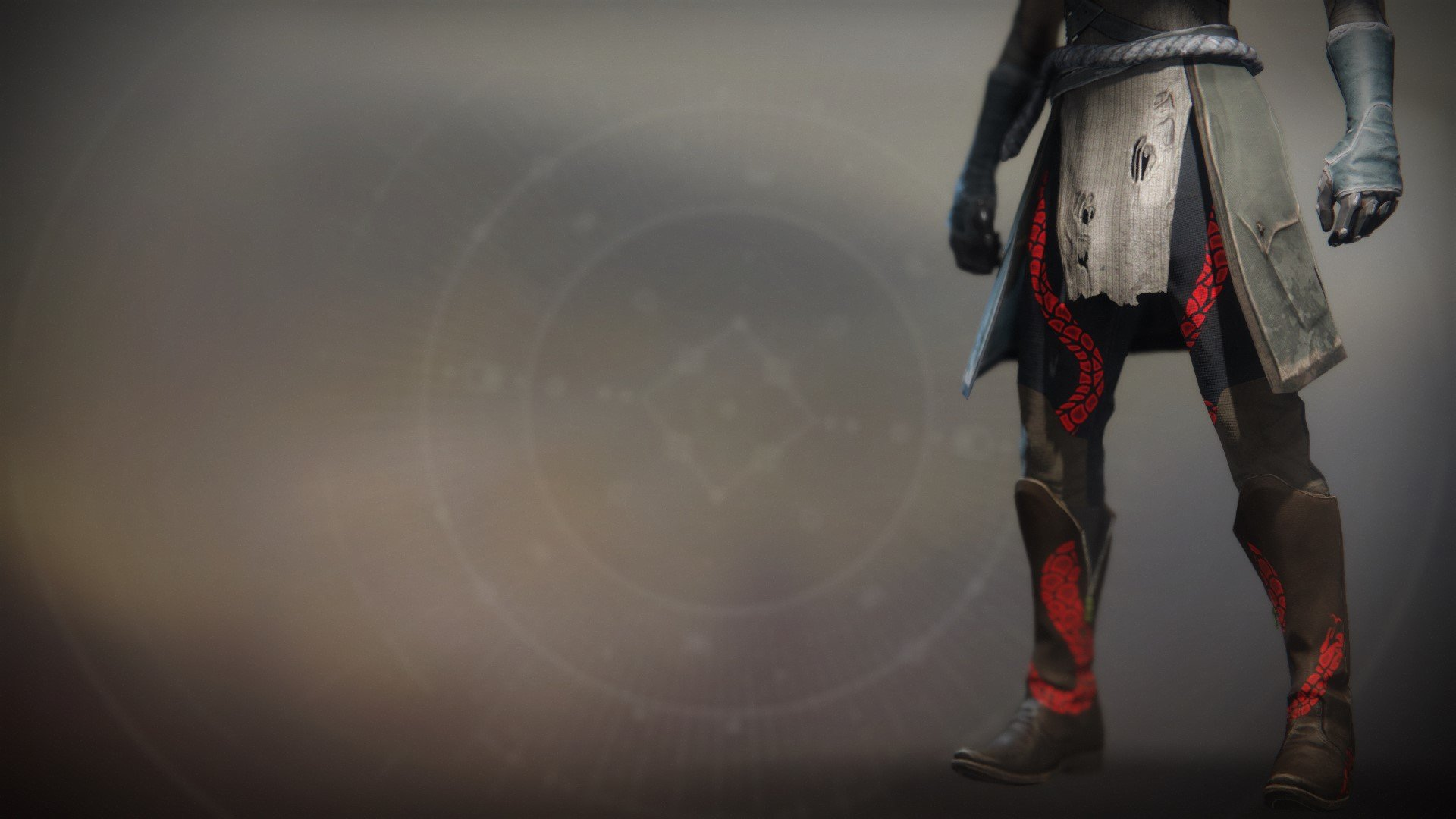 An in-game render of the Notorious Invader Boots.