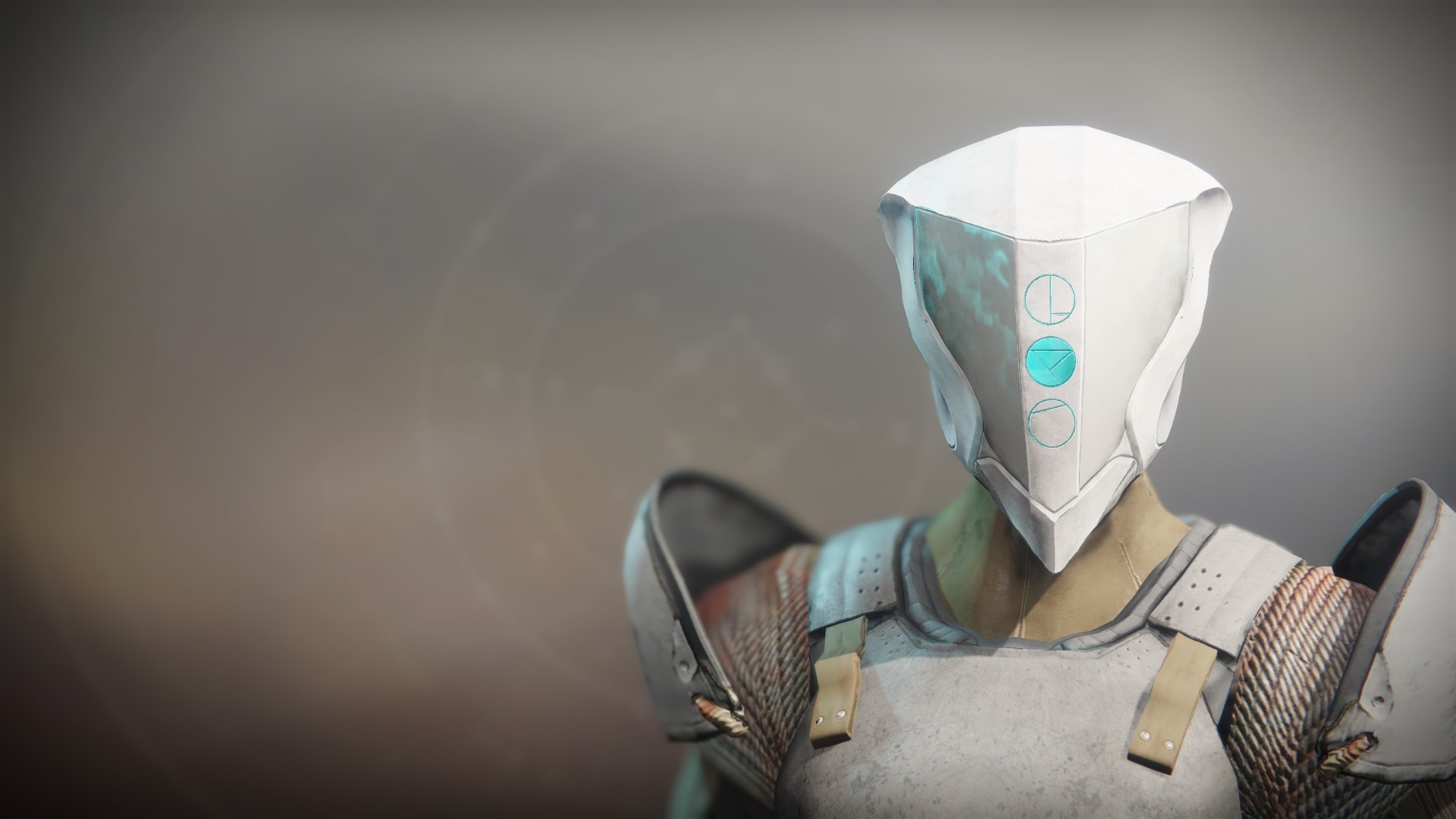 An in-game render of the Annihilating Helm.