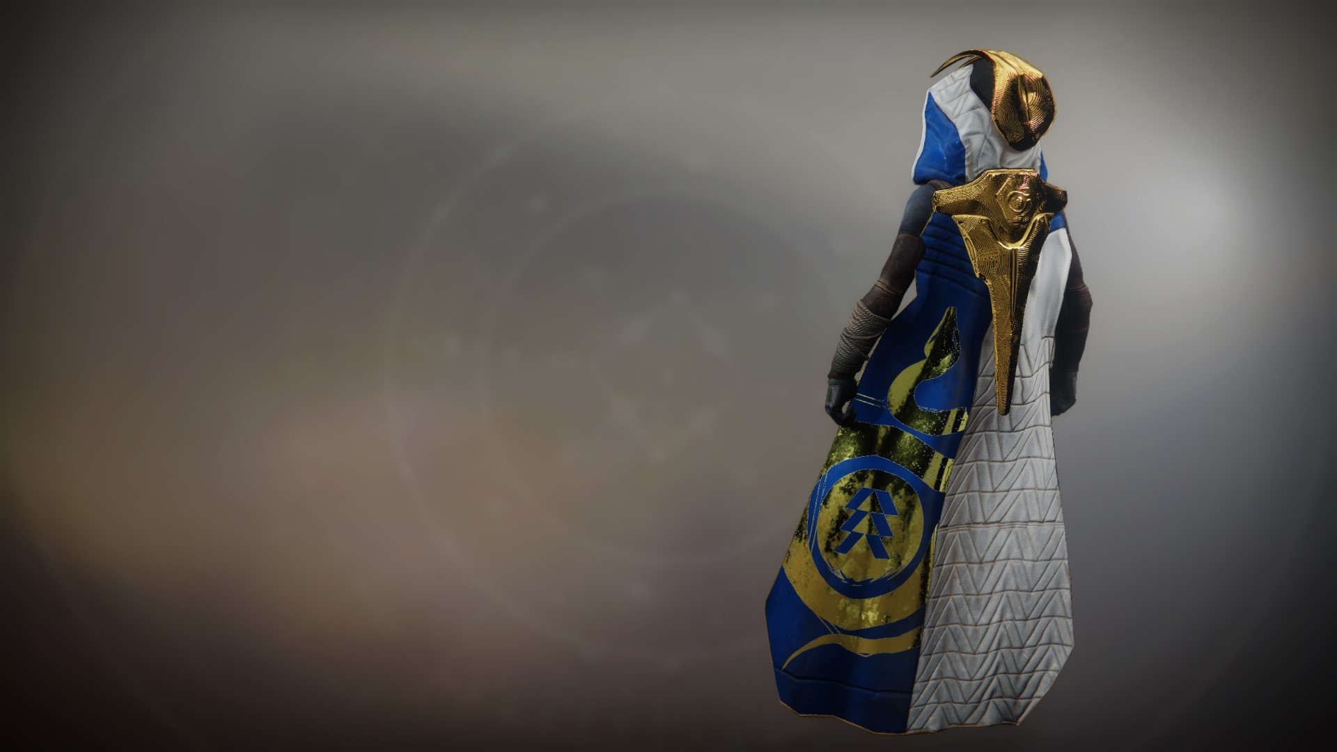 An in-game render of the Cunning Rivalry Cloak.