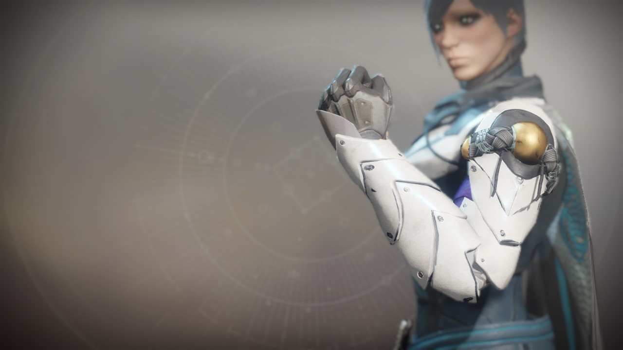 An in-game render of the Grips of the Ace-Defiant.