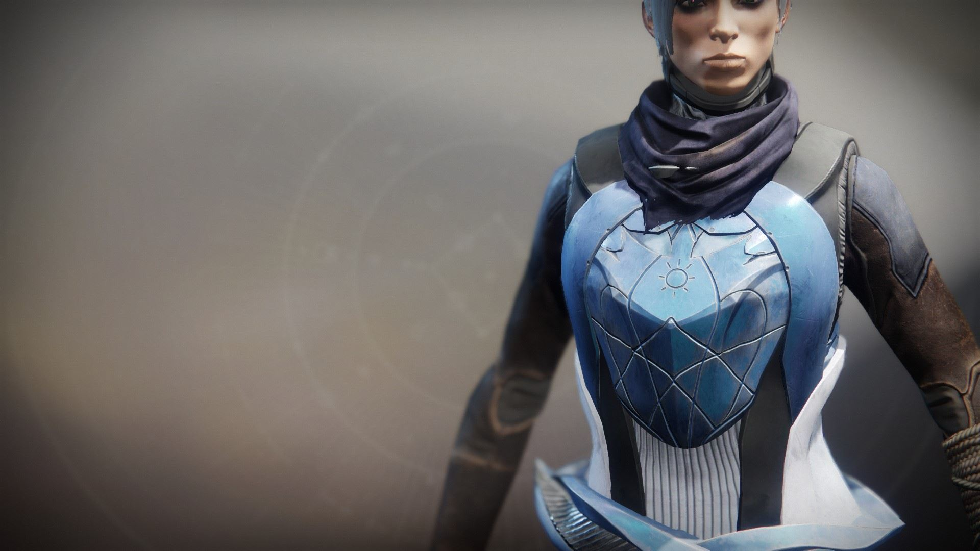 An in-game render of the Frostveil Vest.