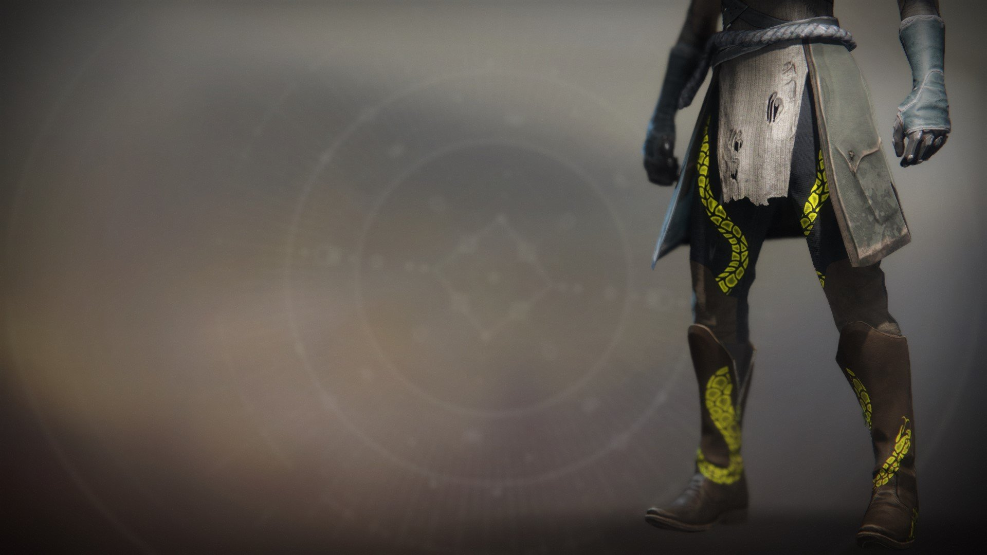An in-game render of the Notorious Sentry Boots.