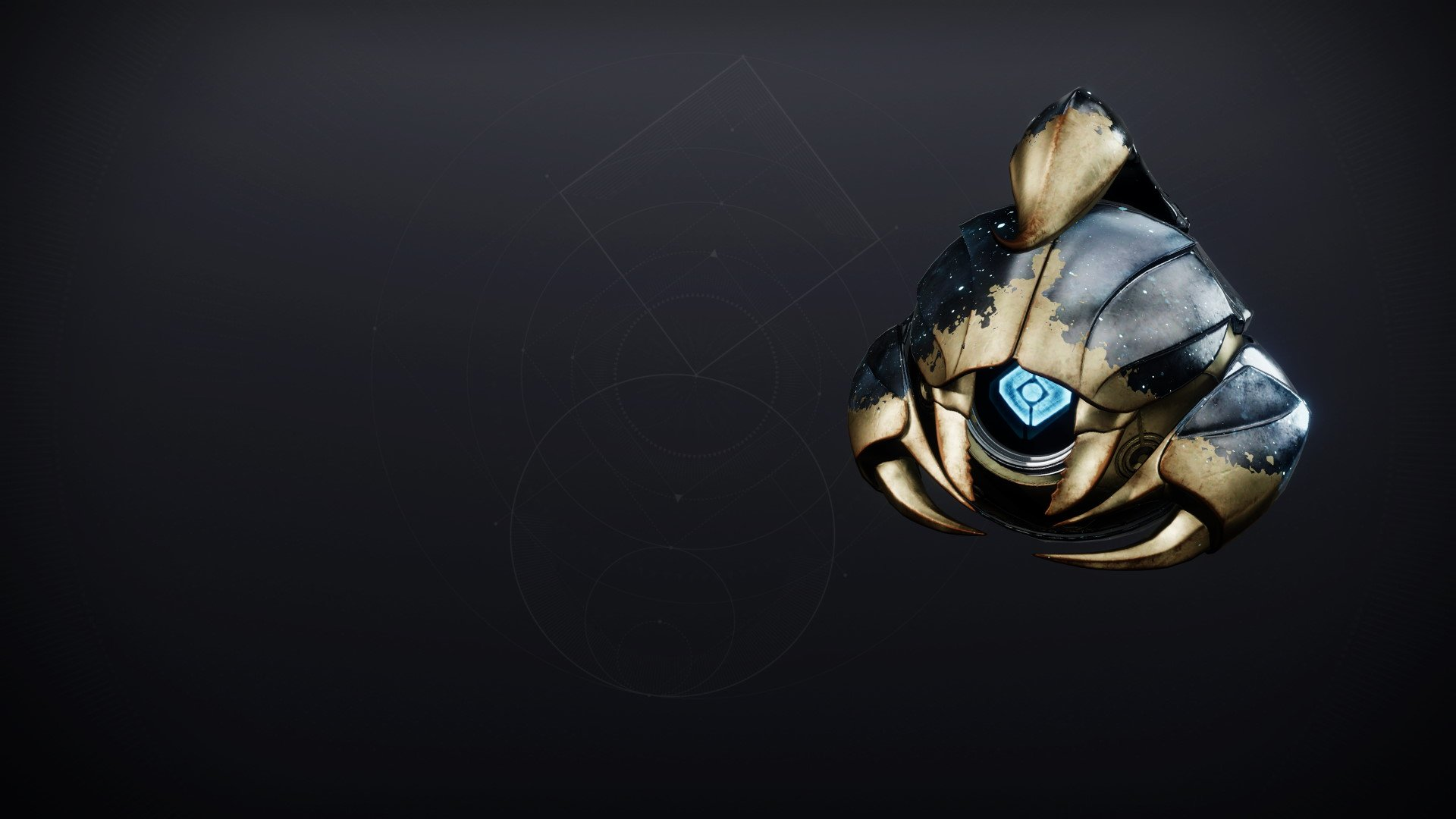 An in-game render of the Celestial Shell.