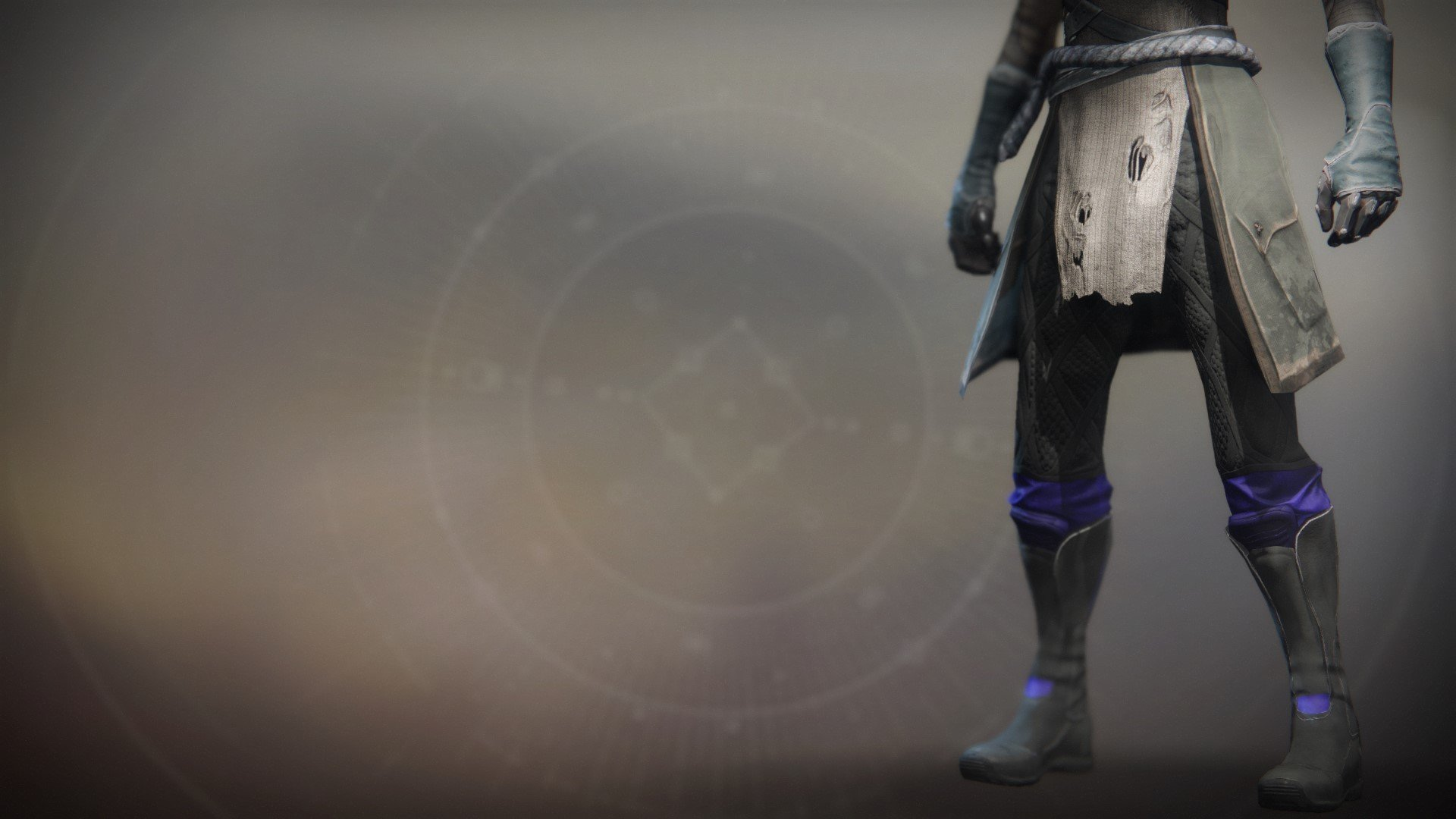 An in-game render of the Superior's Vision Boots.