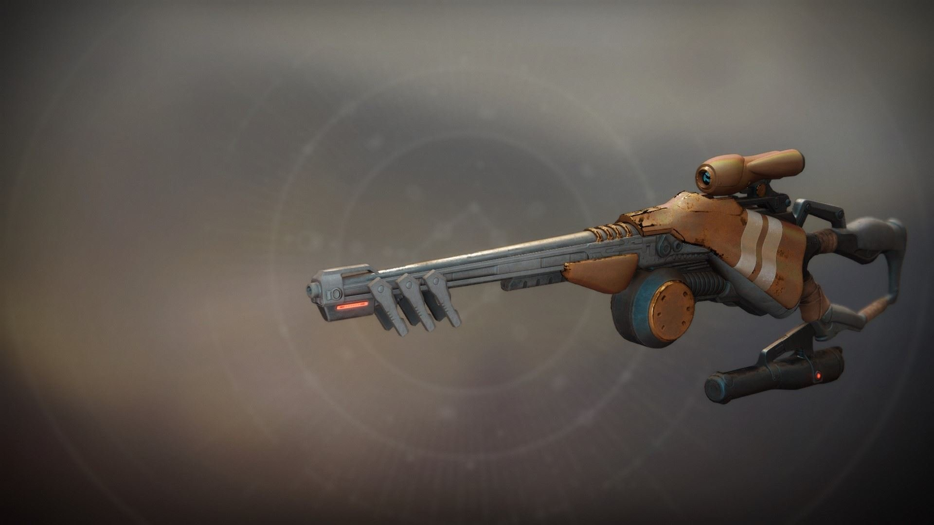 An in-game render of the The Queenbreaker.