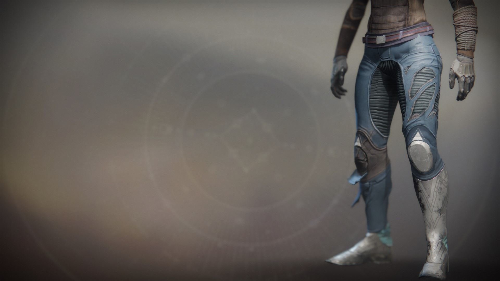 An in-game render of the Solstice Strides (Scorched).