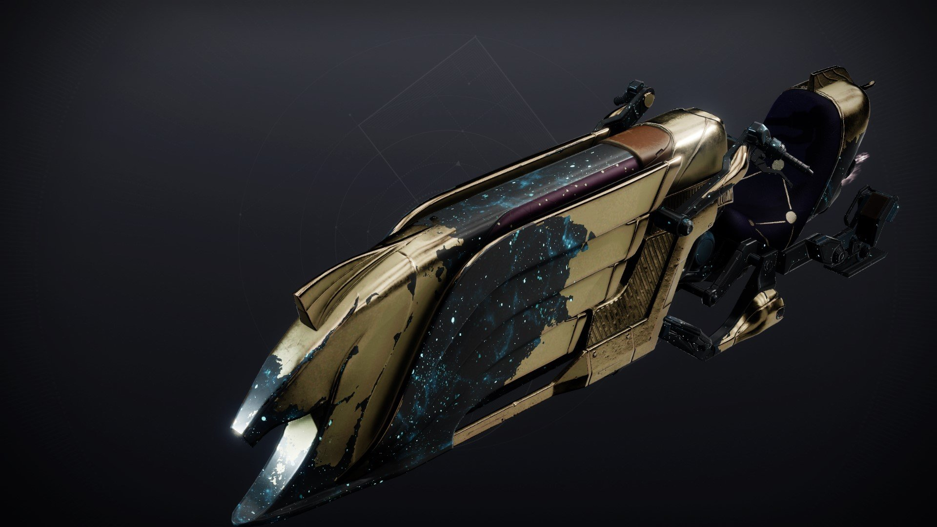 An in-game render of the Celestial Horn.