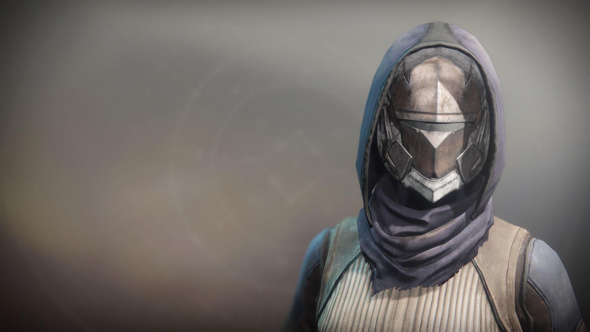 An in-game render of the Solstice Mask (Rekindled).