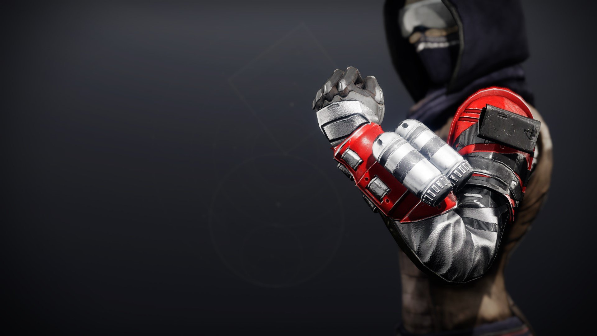An in-game render of the Cinder Pinion Grasps.