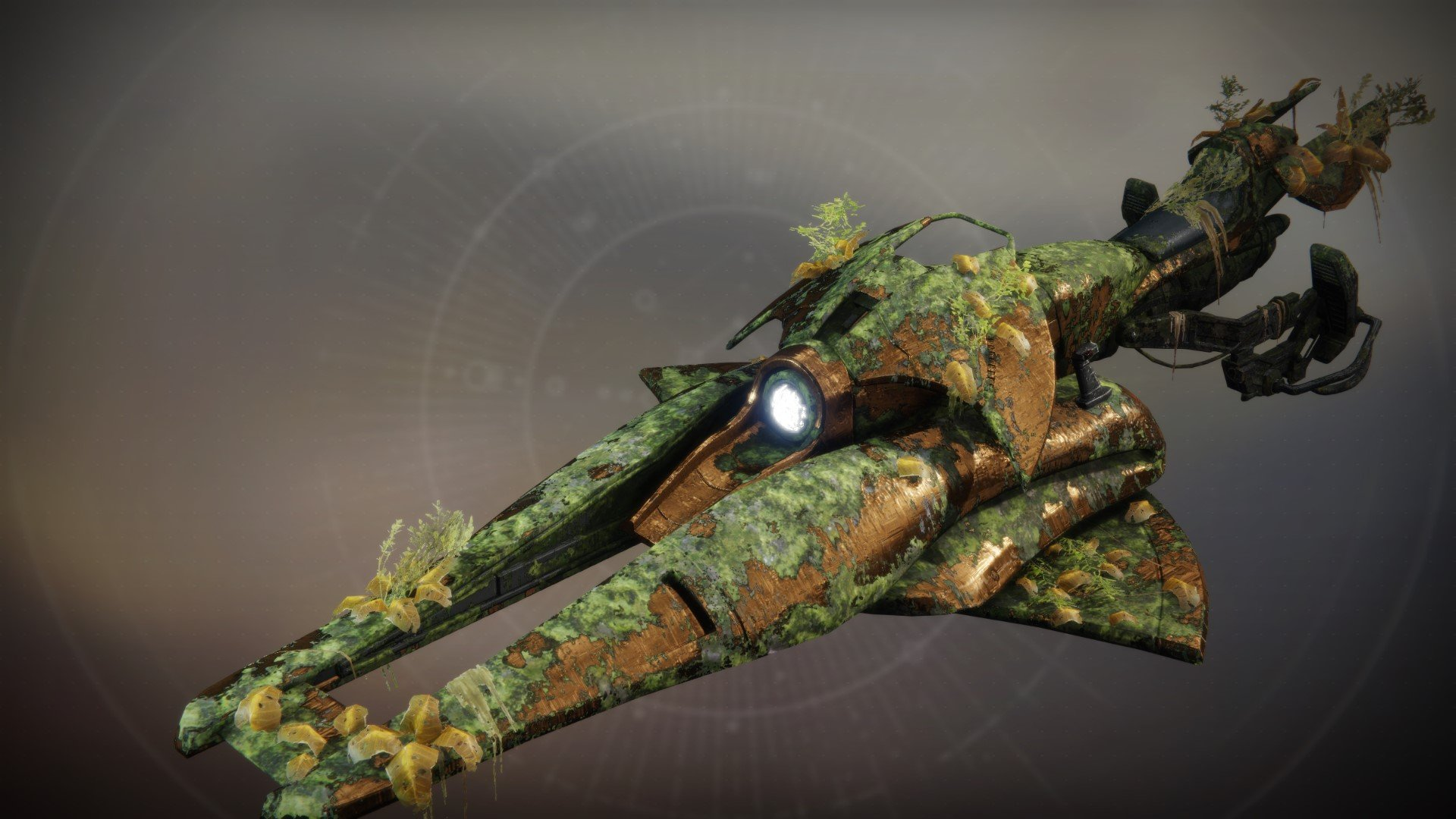 An in-game render of the Invasive Species.
