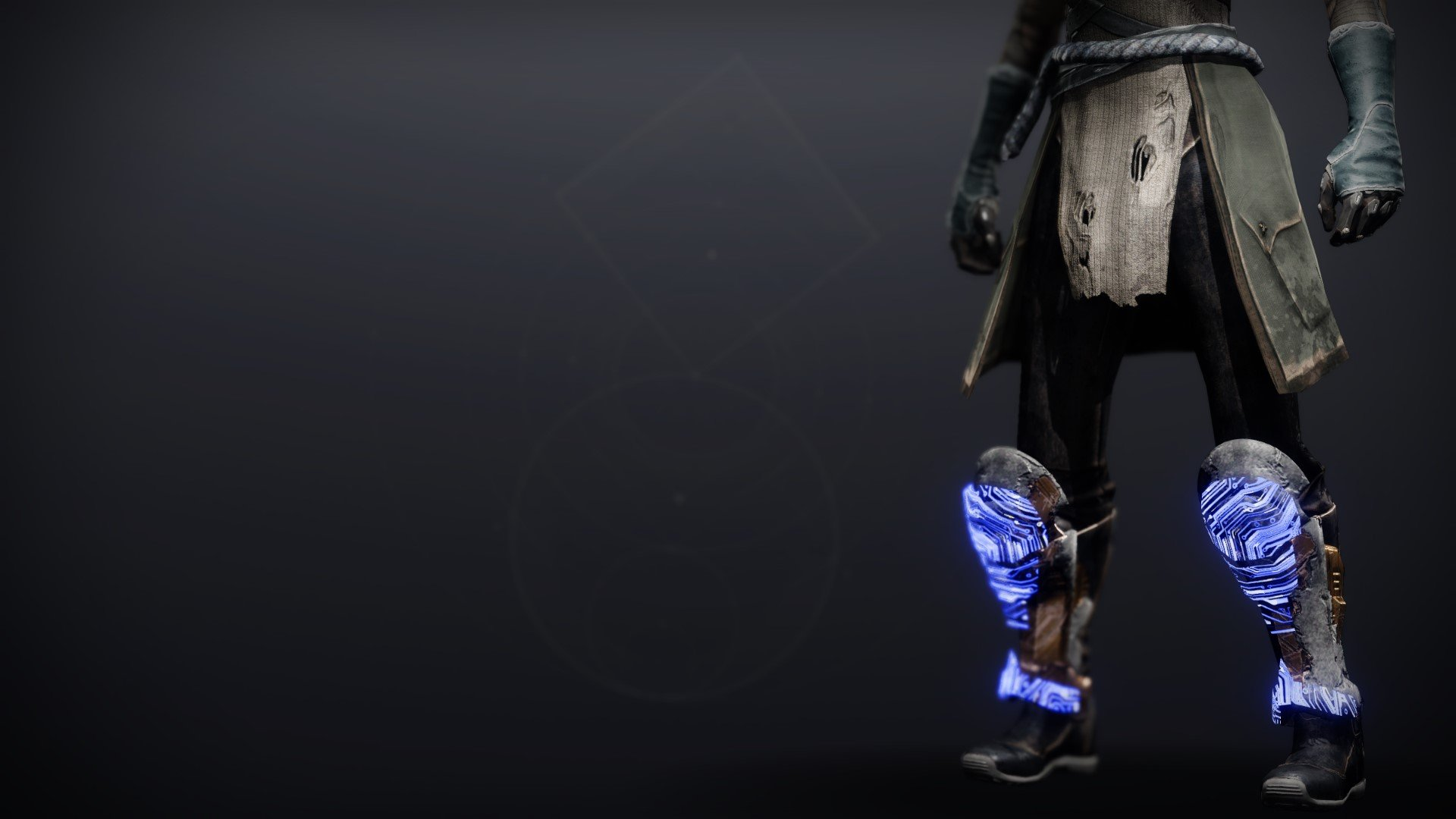 An in-game render of the Boots of Ascendancy.