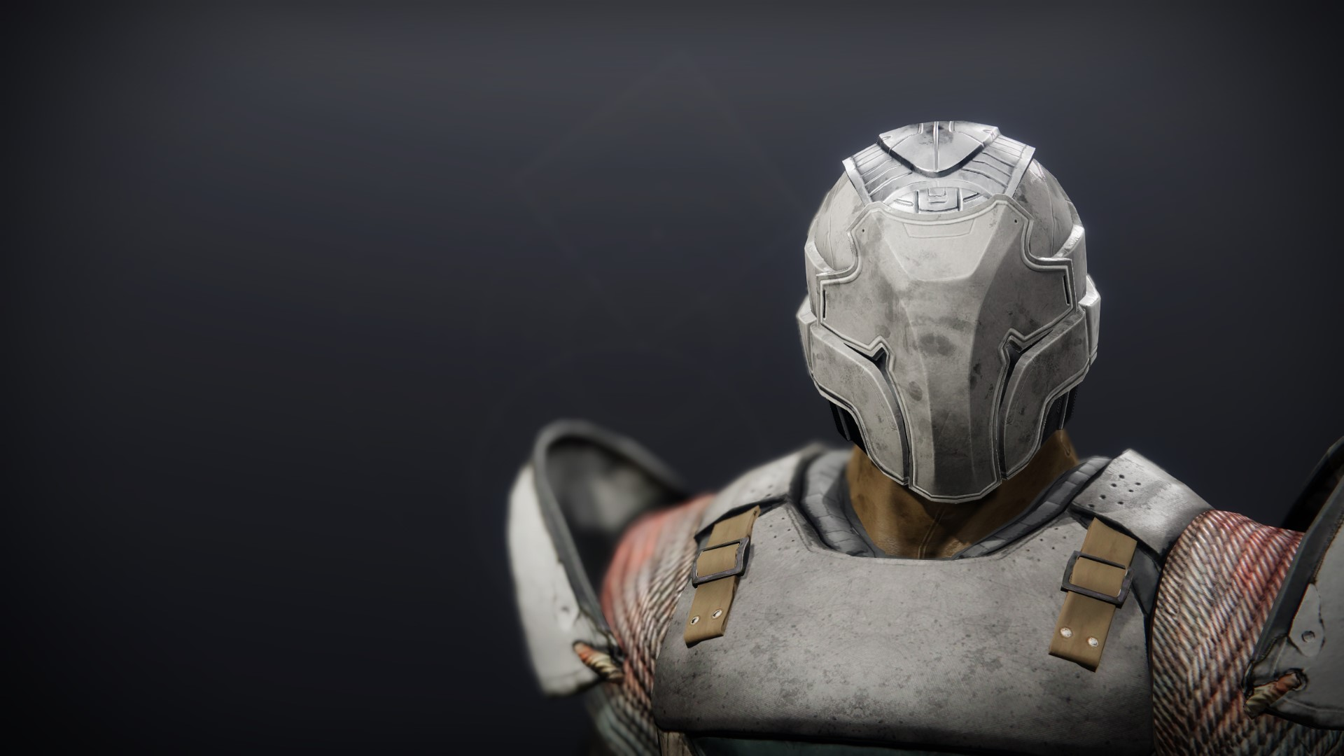 An in-game render of the Iron Will Helm.