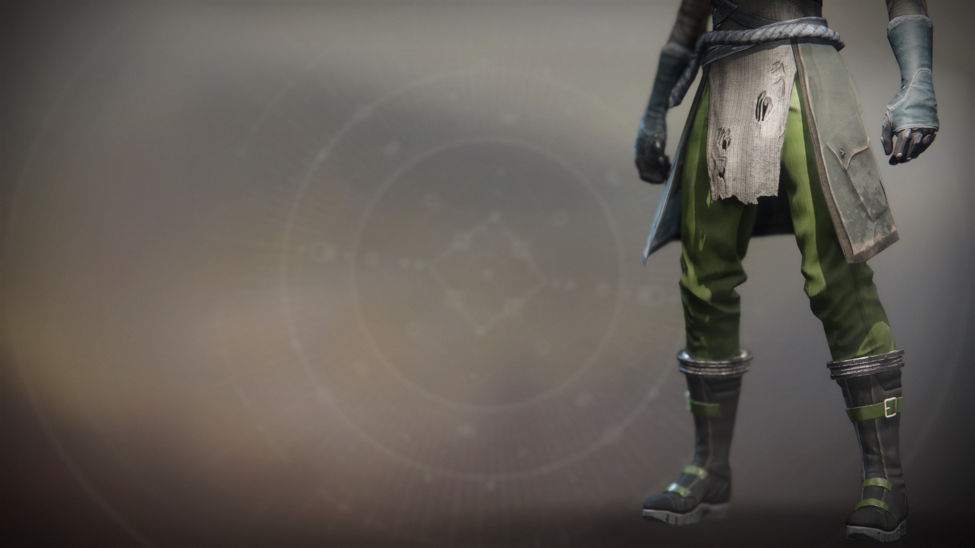 An in-game render of the Arach's Chosen Boots.