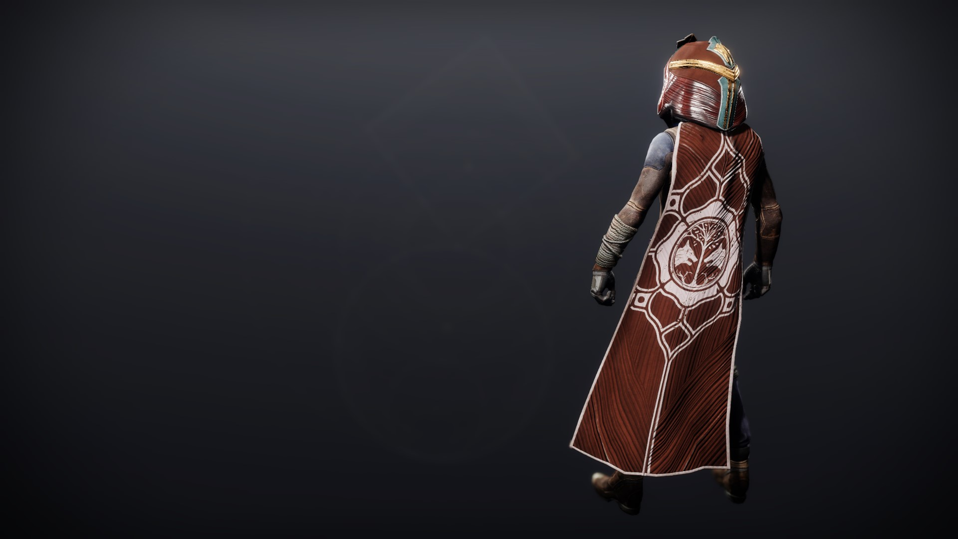 An in-game render of the Cloak of Remembrance.