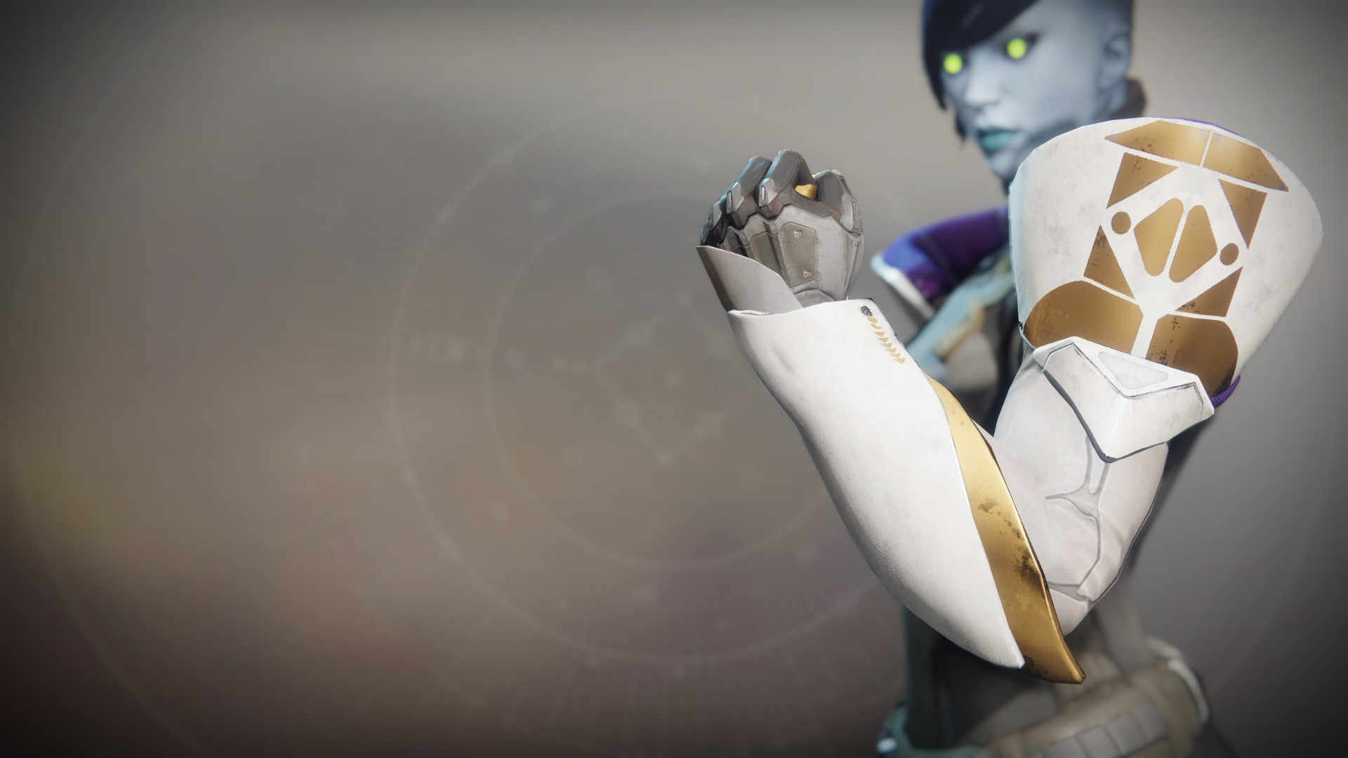 An in-game render of the Gauntlets of Rull.