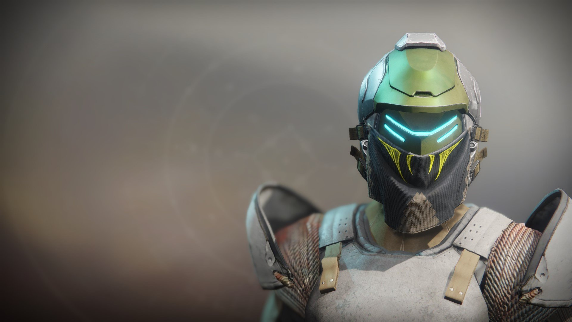 An in-game render of the Illicit Sentry Helm.