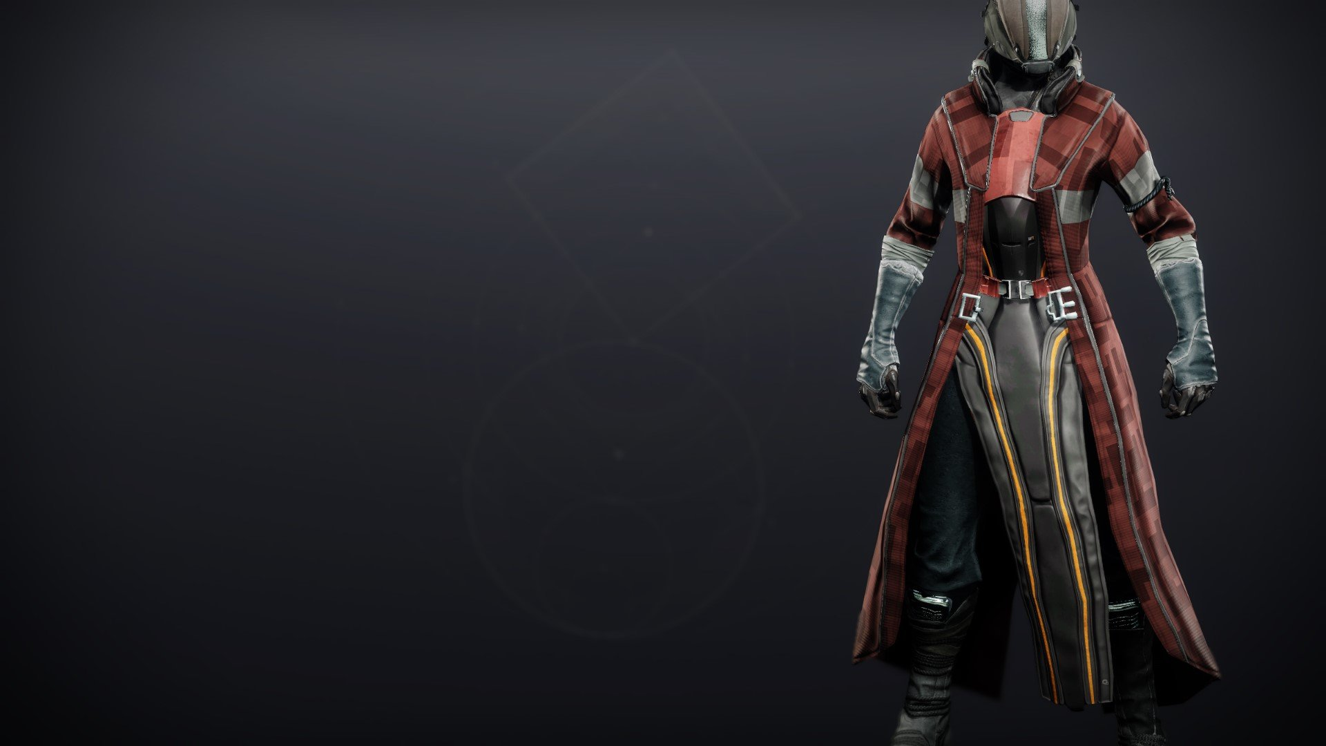 An in-game render of the Exodus Down Robes.