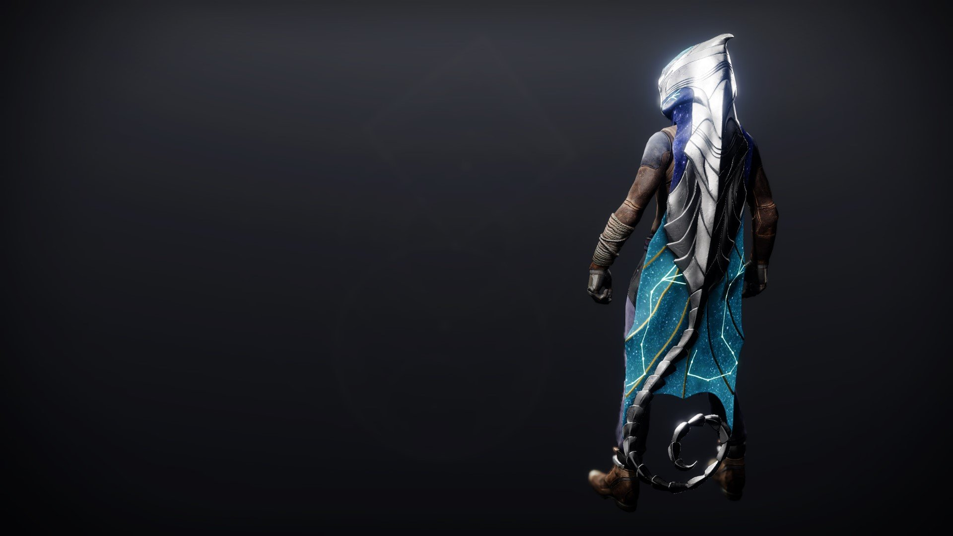 An in-game render of the Celestial Cloak.