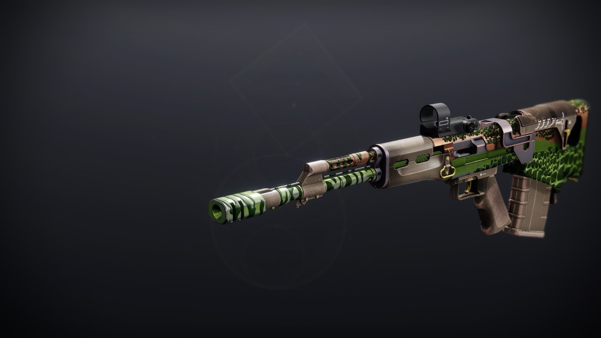 An in-game render of the Jurassic Green.