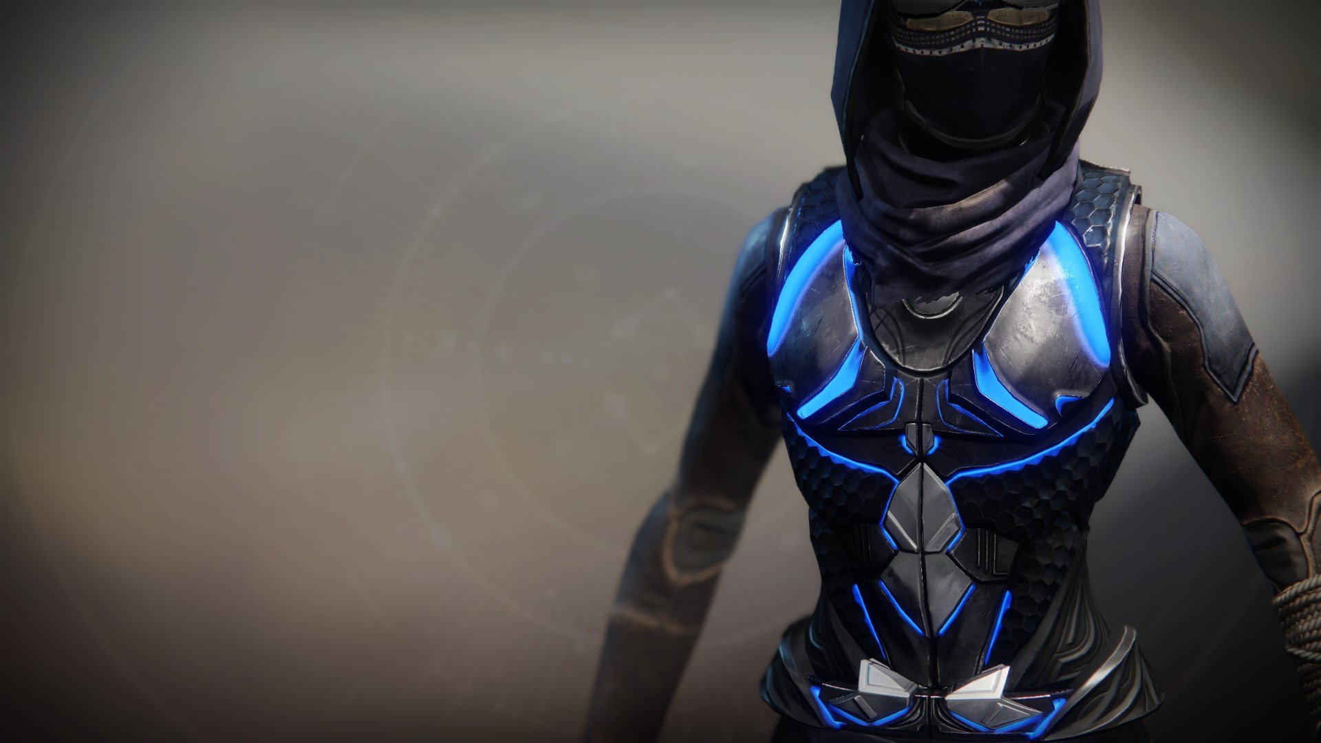 An in-game render of the Raiju's Harness.