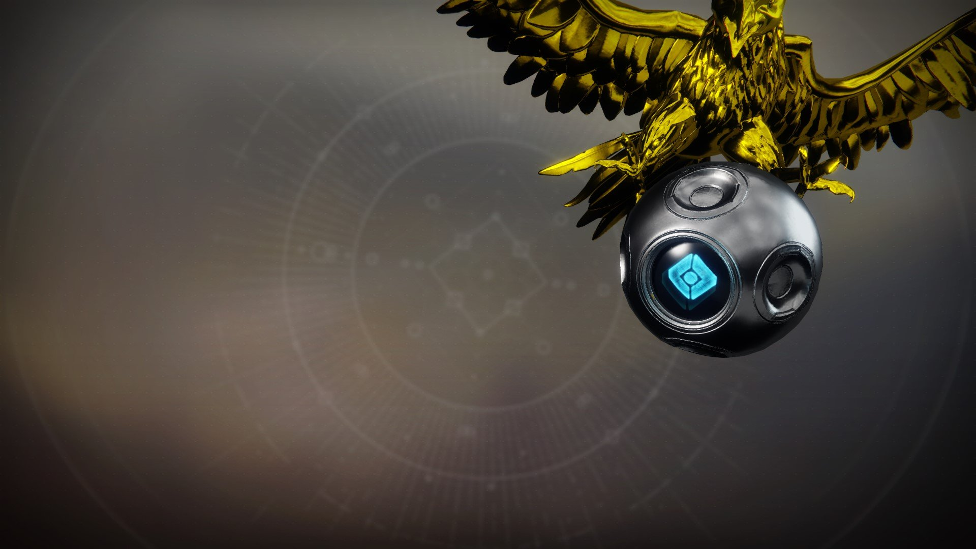 An in-game render of the Rival Warlock Shell.