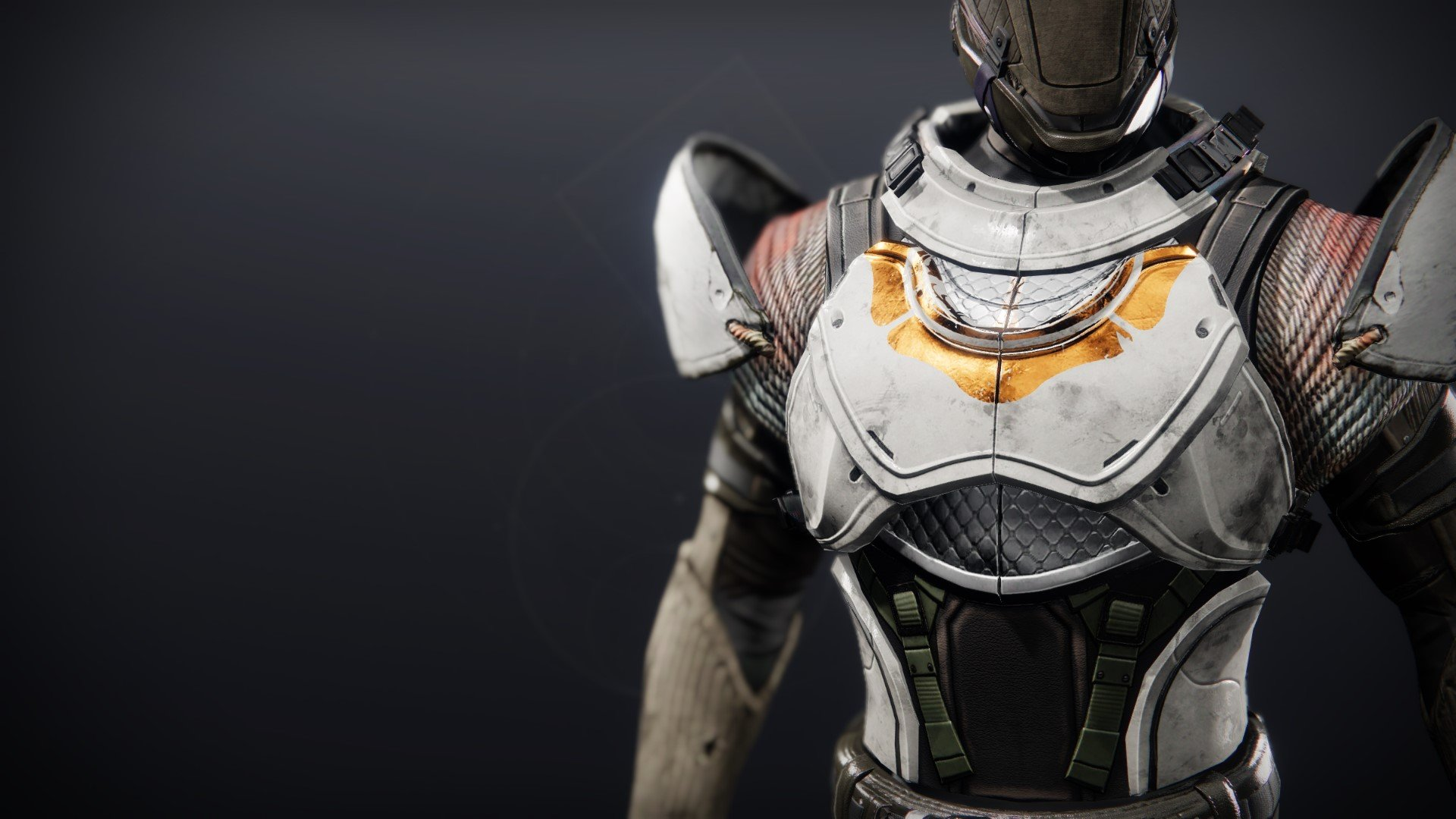 An in-game render of the Iron Will Plate.