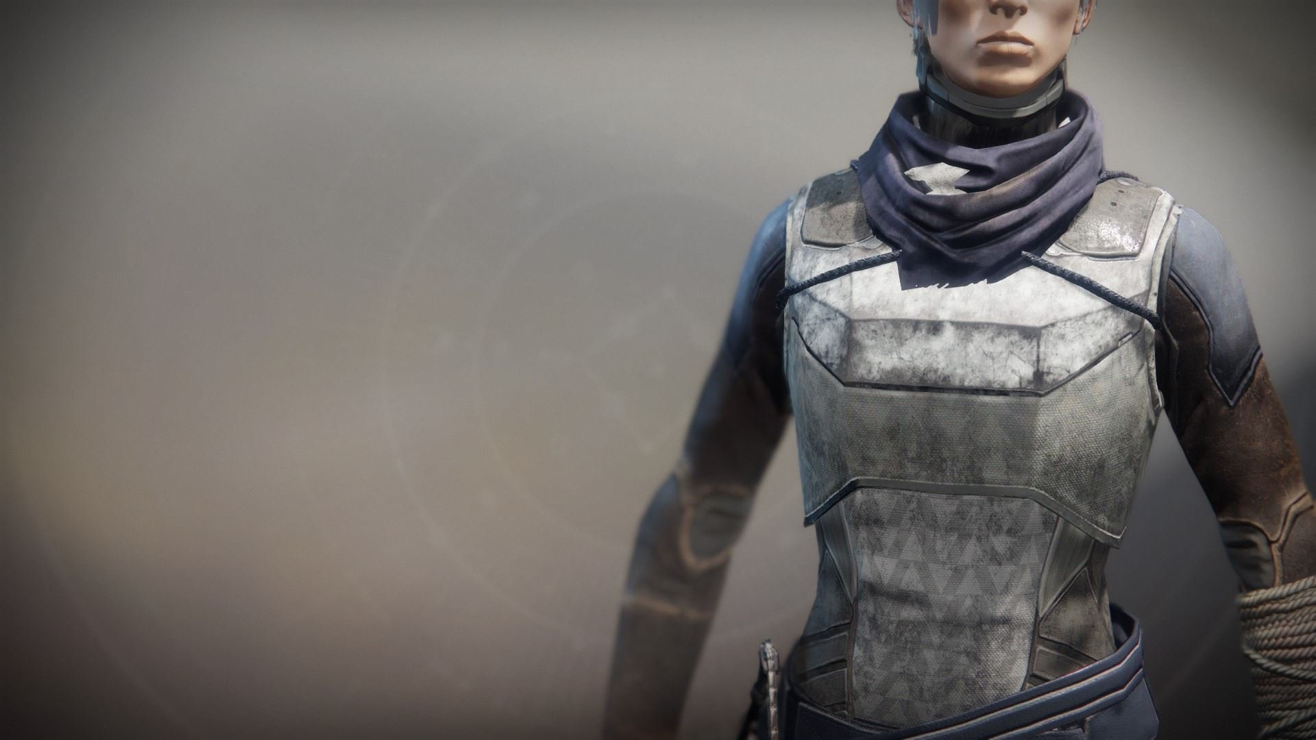 An in-game render of the Solstice Vest (Rekindled).