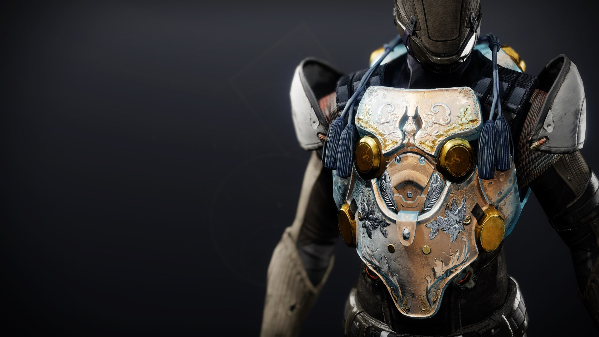 An in-game render of the Cuirass of the Falling Star.
