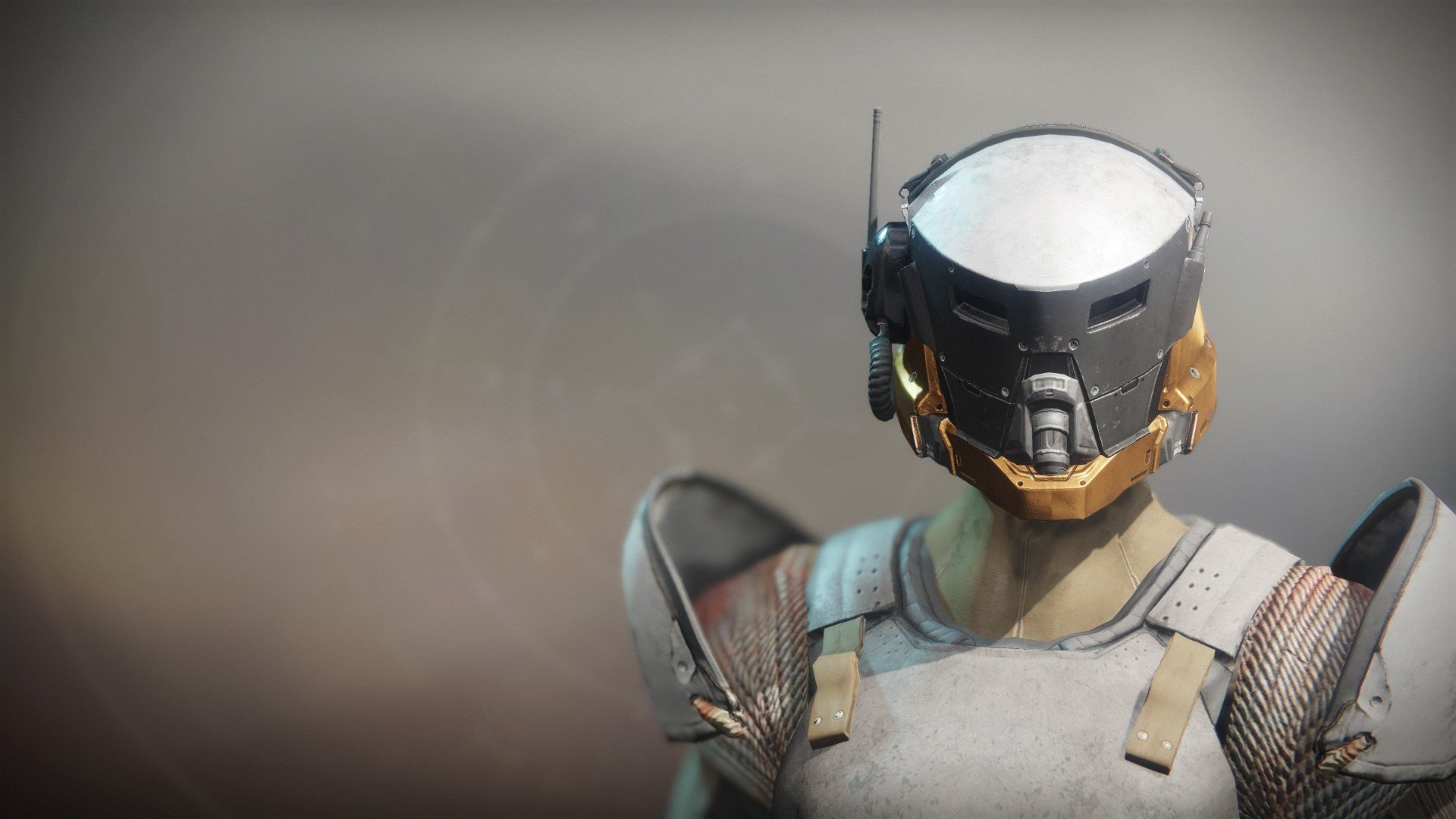 An in-game render of the Arach's Chosen Helm.