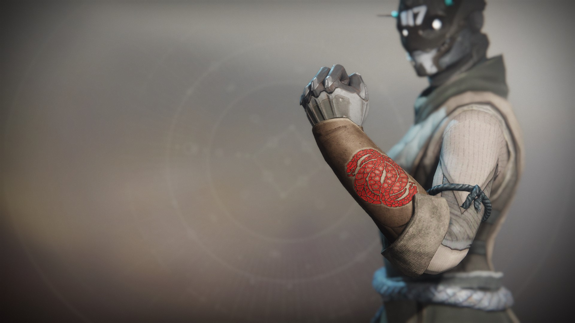 An in-game render of the Notorious Invader Gloves.