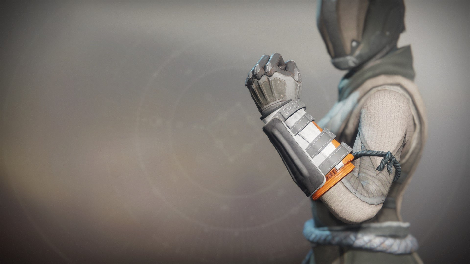 An in-game render of the Steadfast Warlock Ornament.