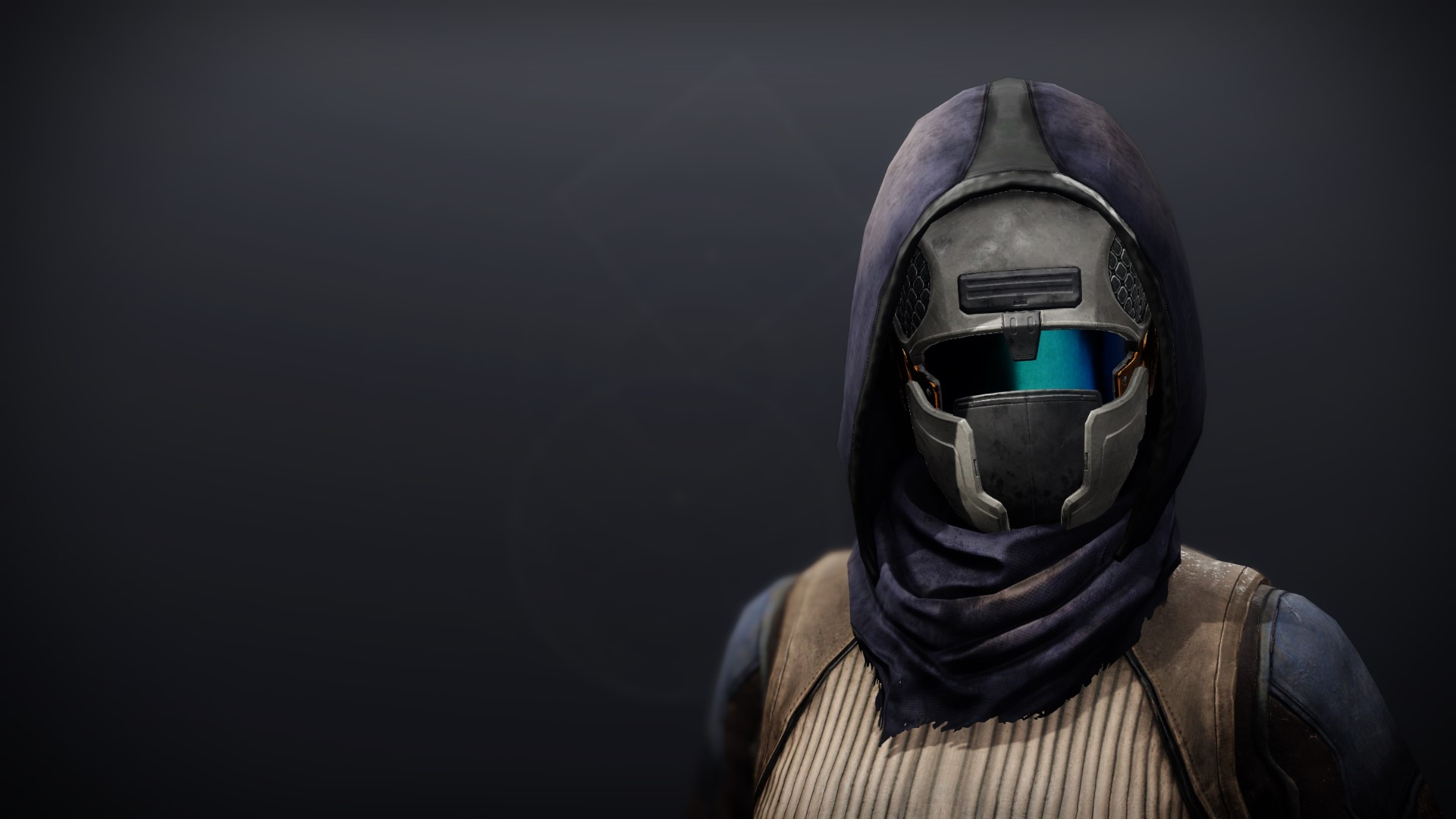 An in-game render of the Iron Will Mask.
