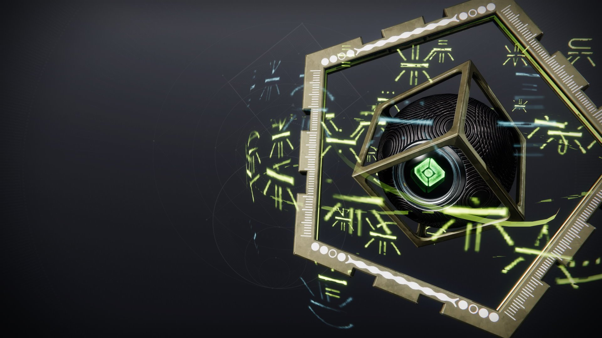 An in-game render of the Cosmographicum Shell.