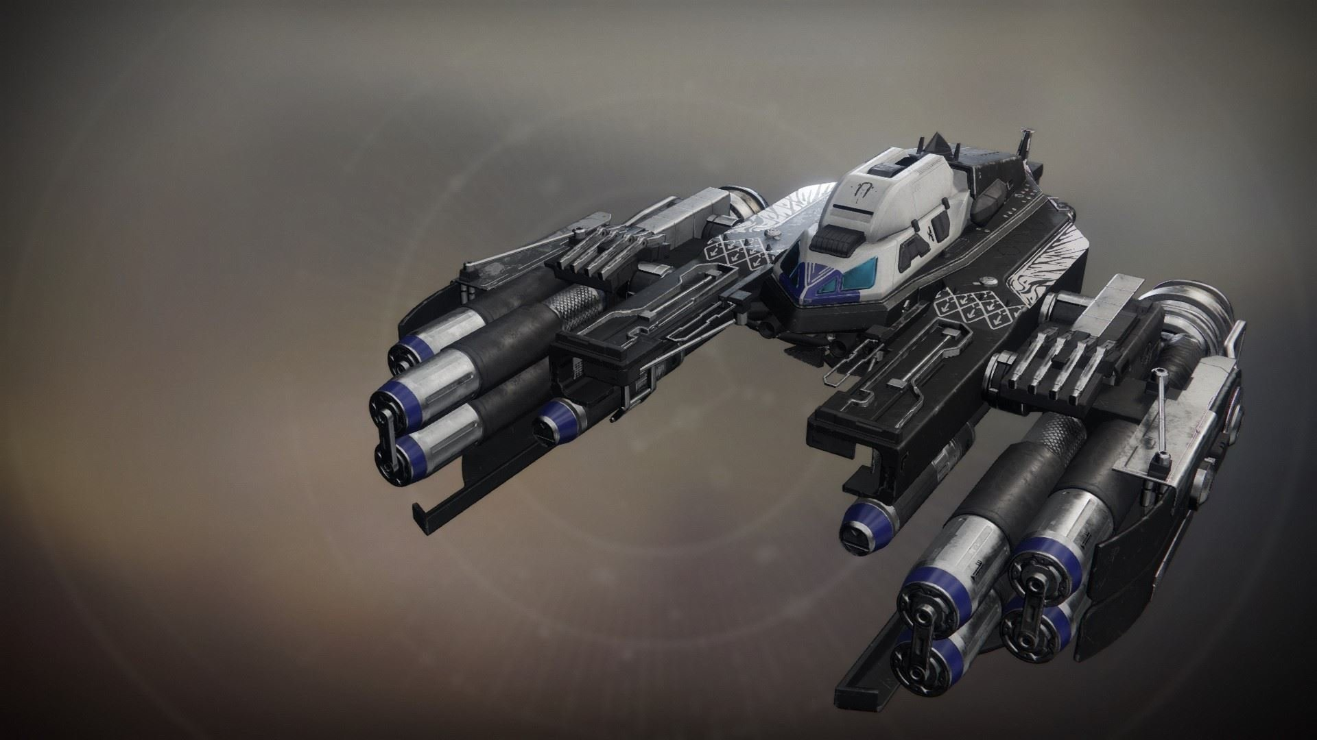 An in-game render of the Ódrerir.