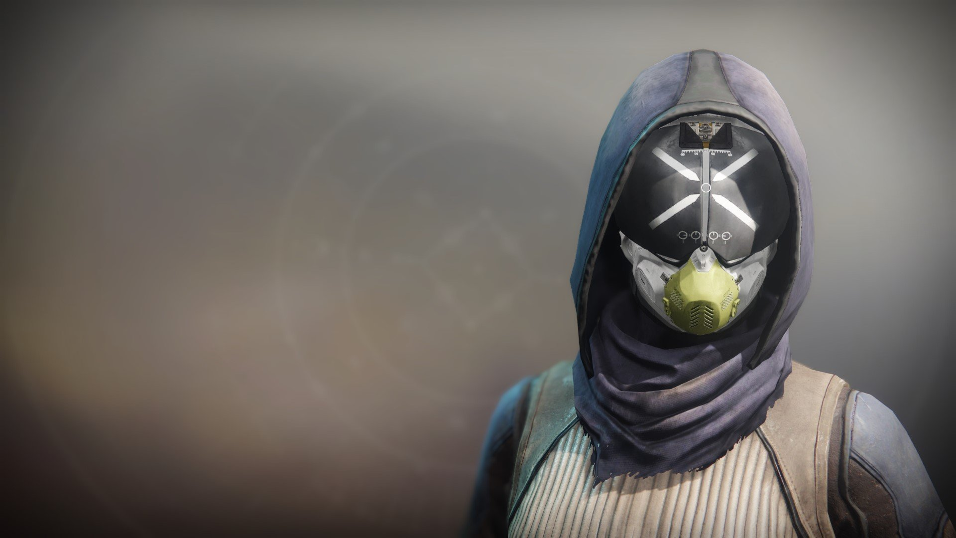 An in-game render of the Icarus Drifter Mask.
