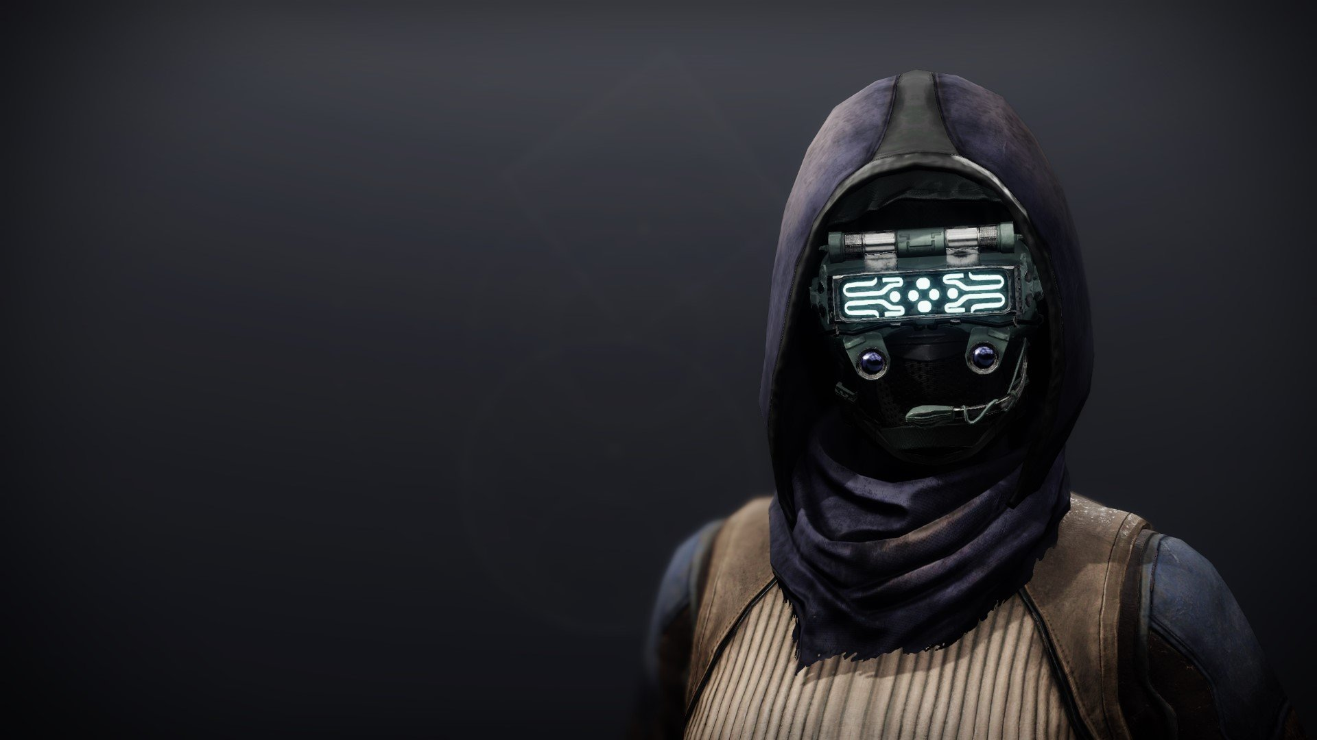An in-game render of the Crystocrene Cowl.