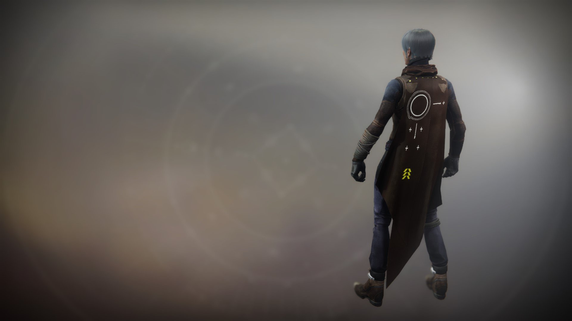 An in-game render of the Icarus Drifter Cape.